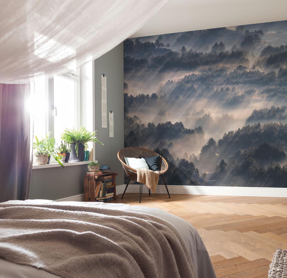 Panoramique Rays - Papier peint Komar AMB