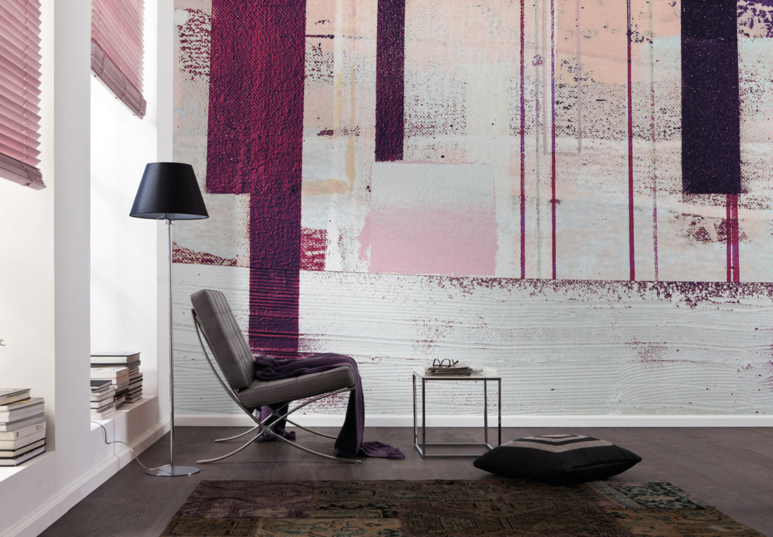 Panoramique Horizon Blazing - Papier peint Komar AMB