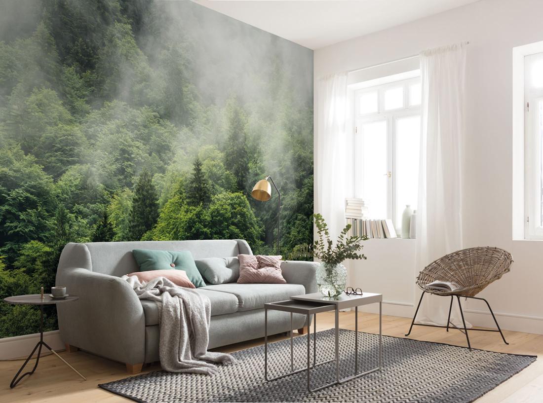 Panoramique Forest Land - Papier peint Komar AMB