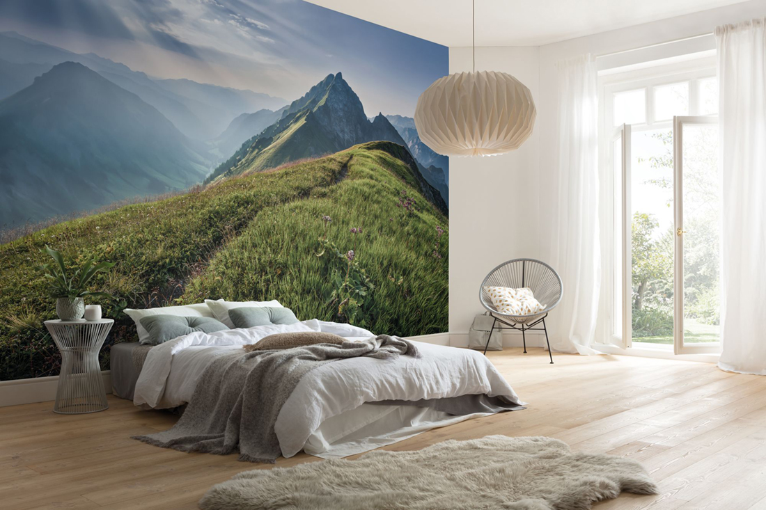 Panoramique Green Vein - Papier peint Komar AMB