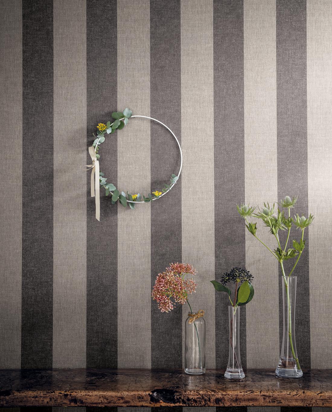 Papier peint Rayures gris noir - Sunny Day de Casélio AMB | Réf. SNY69039298