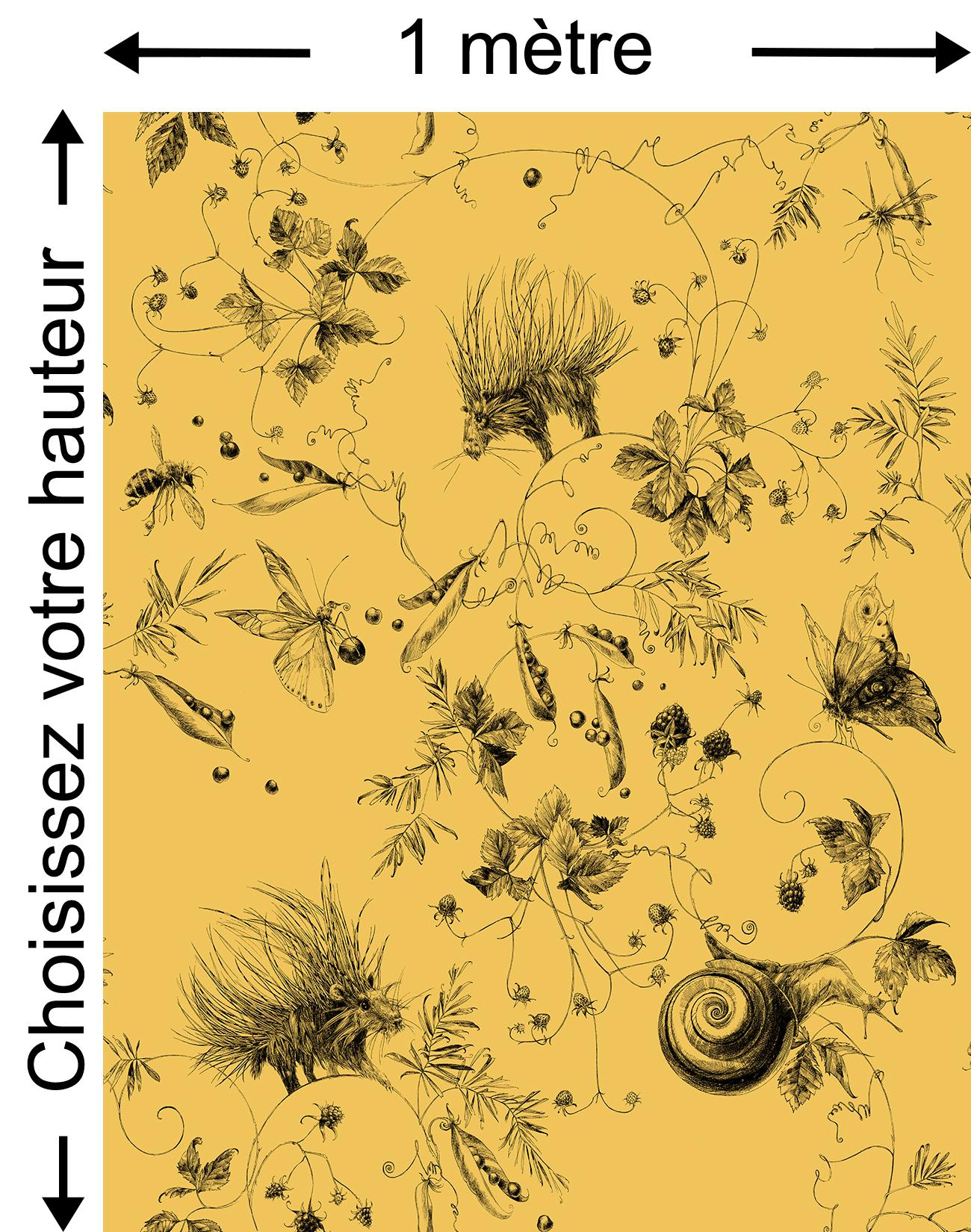 Jardin jaune moutarde - Collection Catherine Gran de Edmond Petit