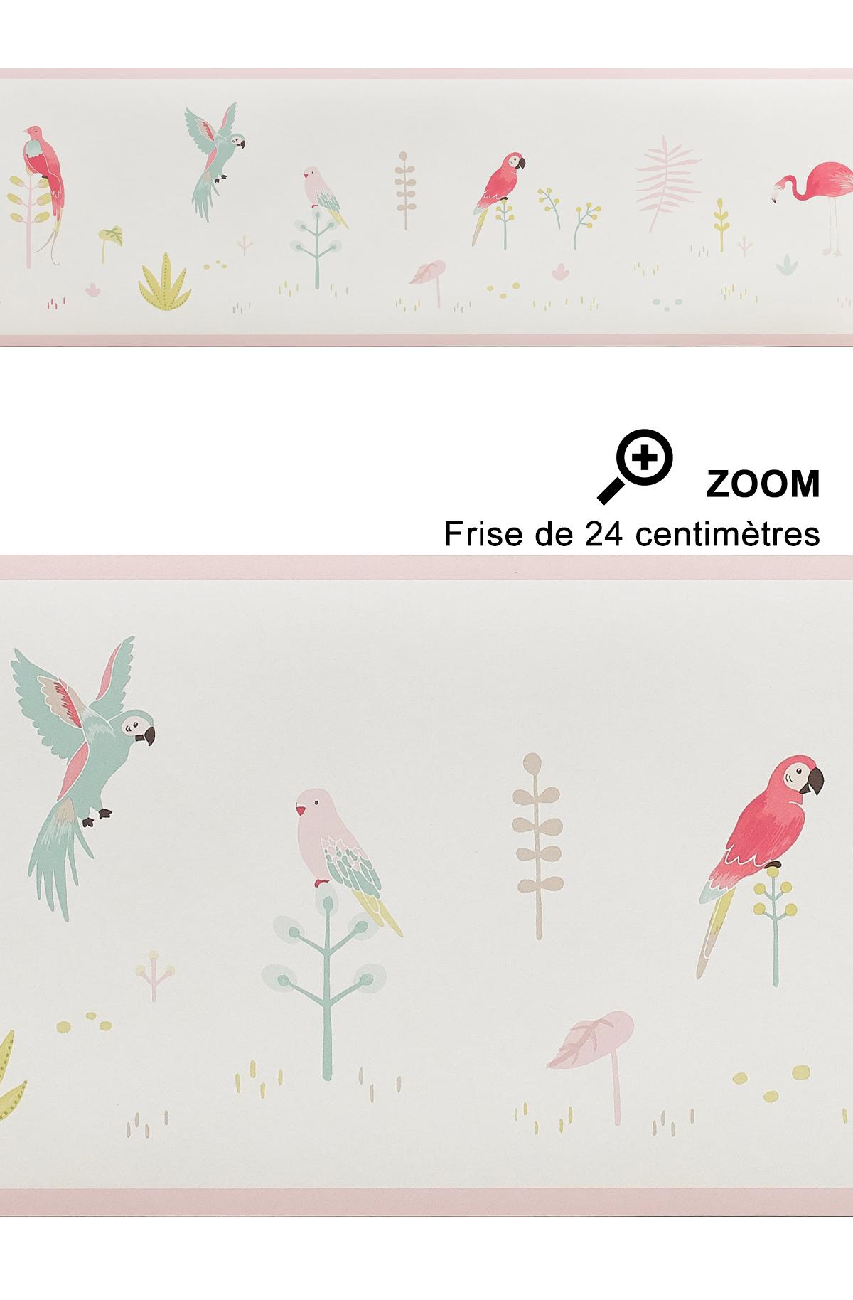 Frise enfant Tropical rose - Happy Dreams de Casadéco | Réf. HPDM82873235