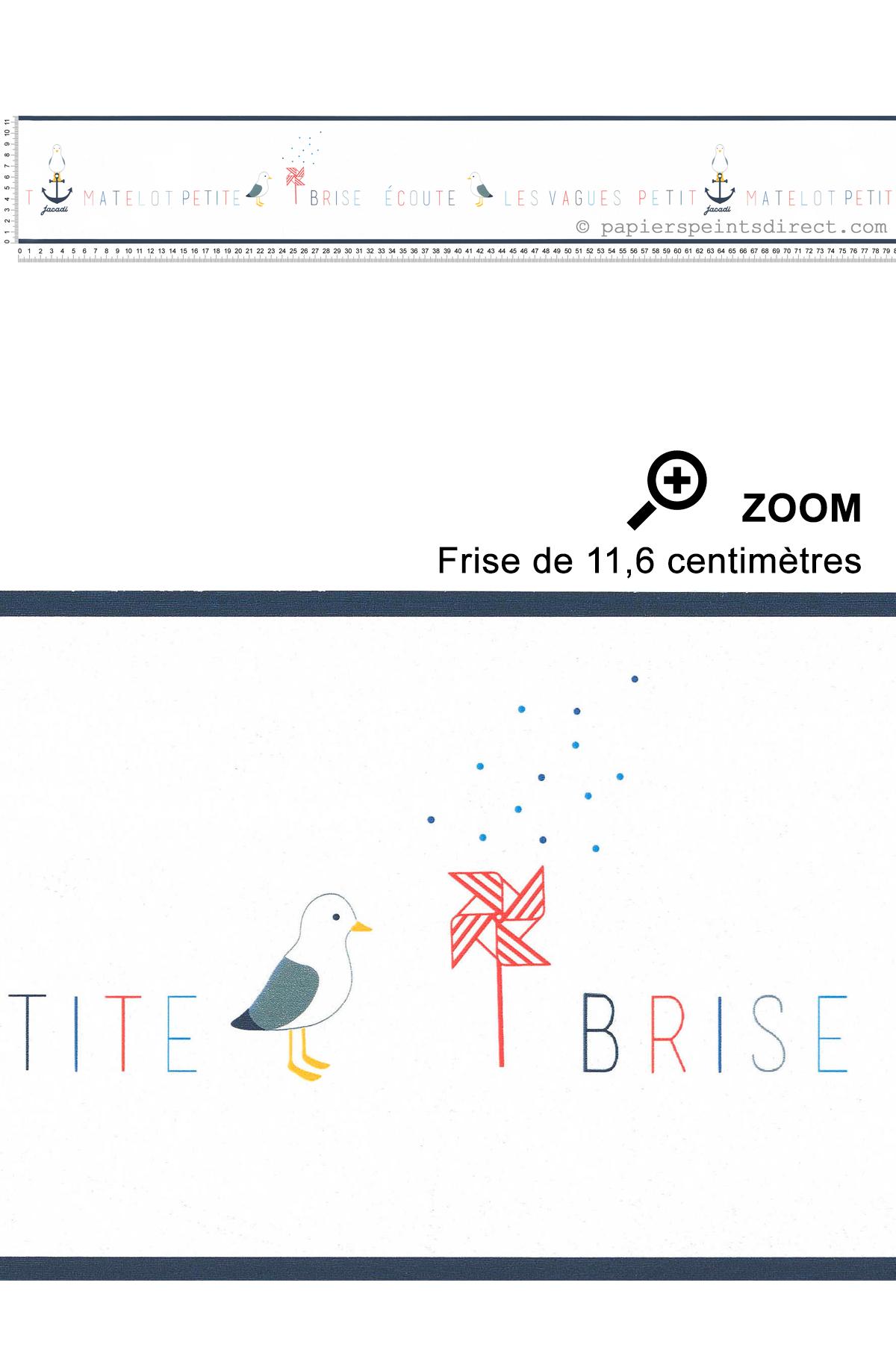 Frise Petit Matelot - Collection Jacadi de Lutèce