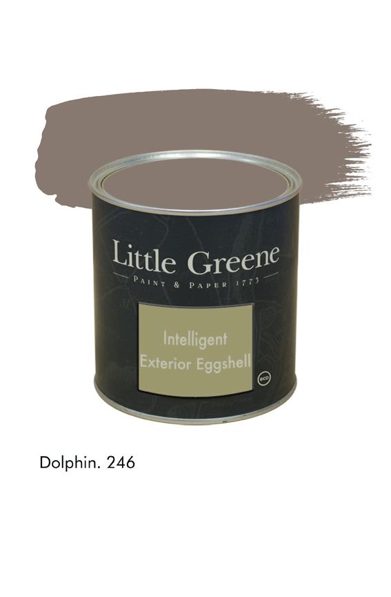 Dolphin n°246. Peinture Intelligent Exterior Eggshell Little Greene
