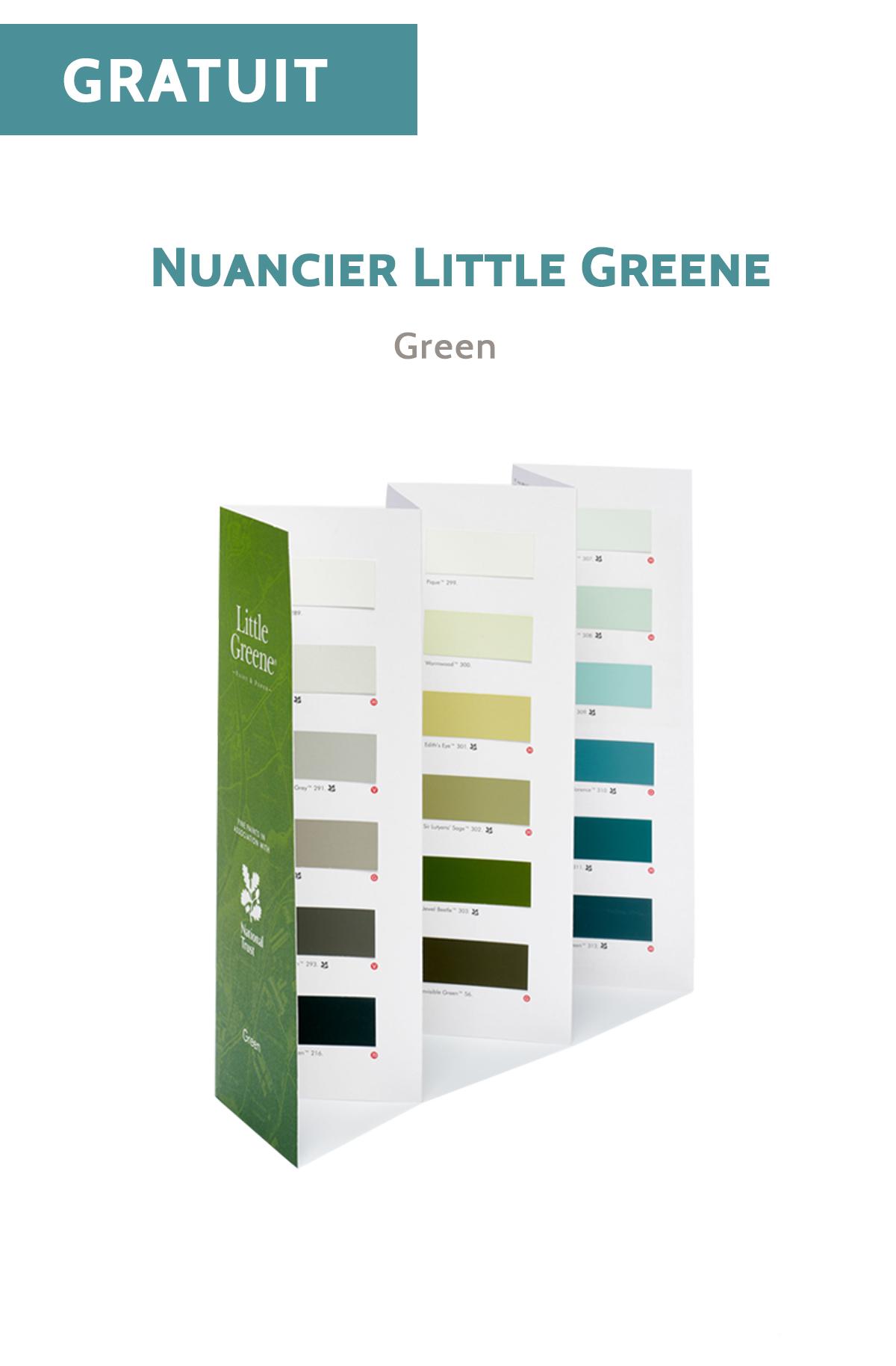 Nuancier Little Greene - Green