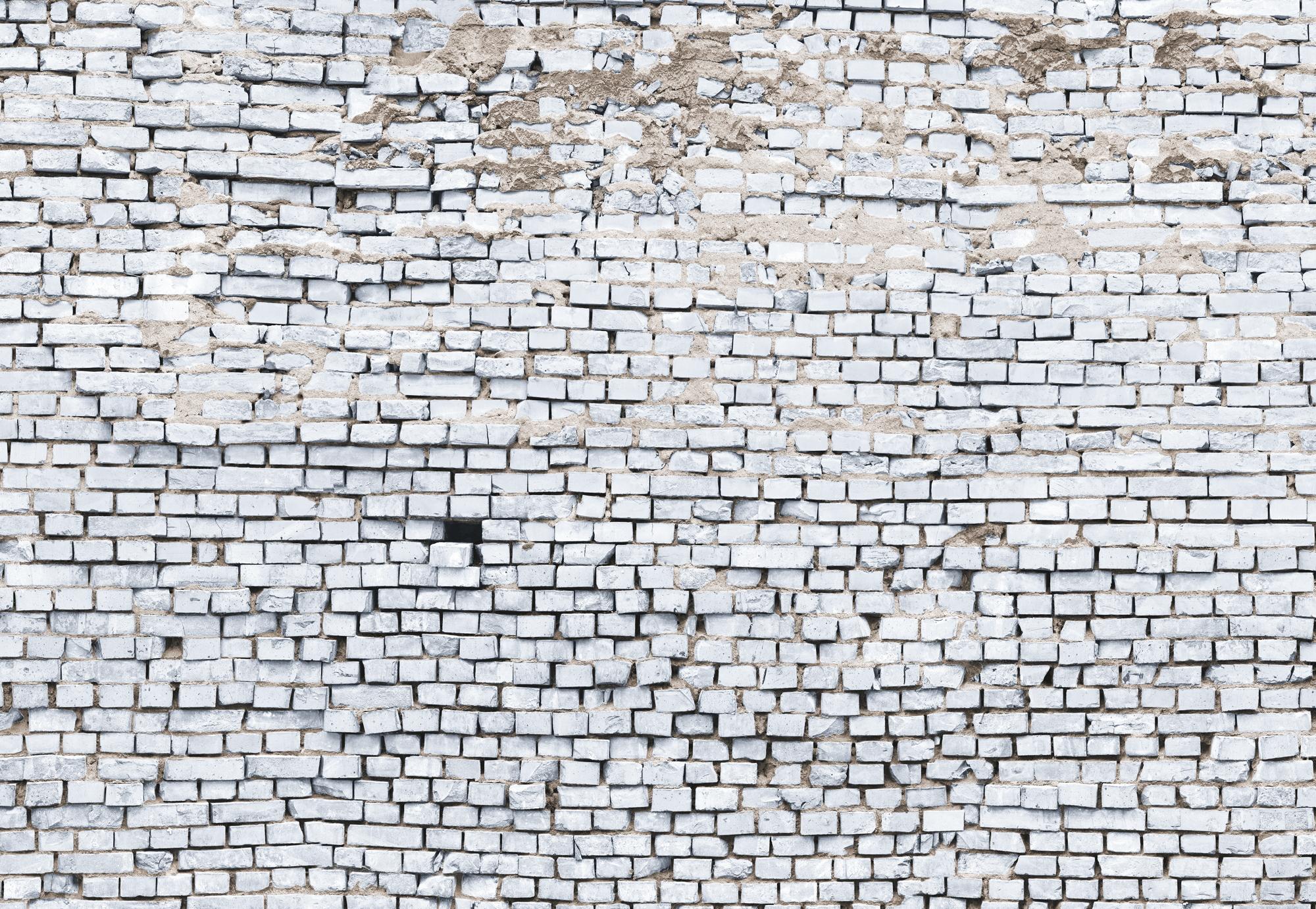 Panoramique White Brick - Papier peint Komar