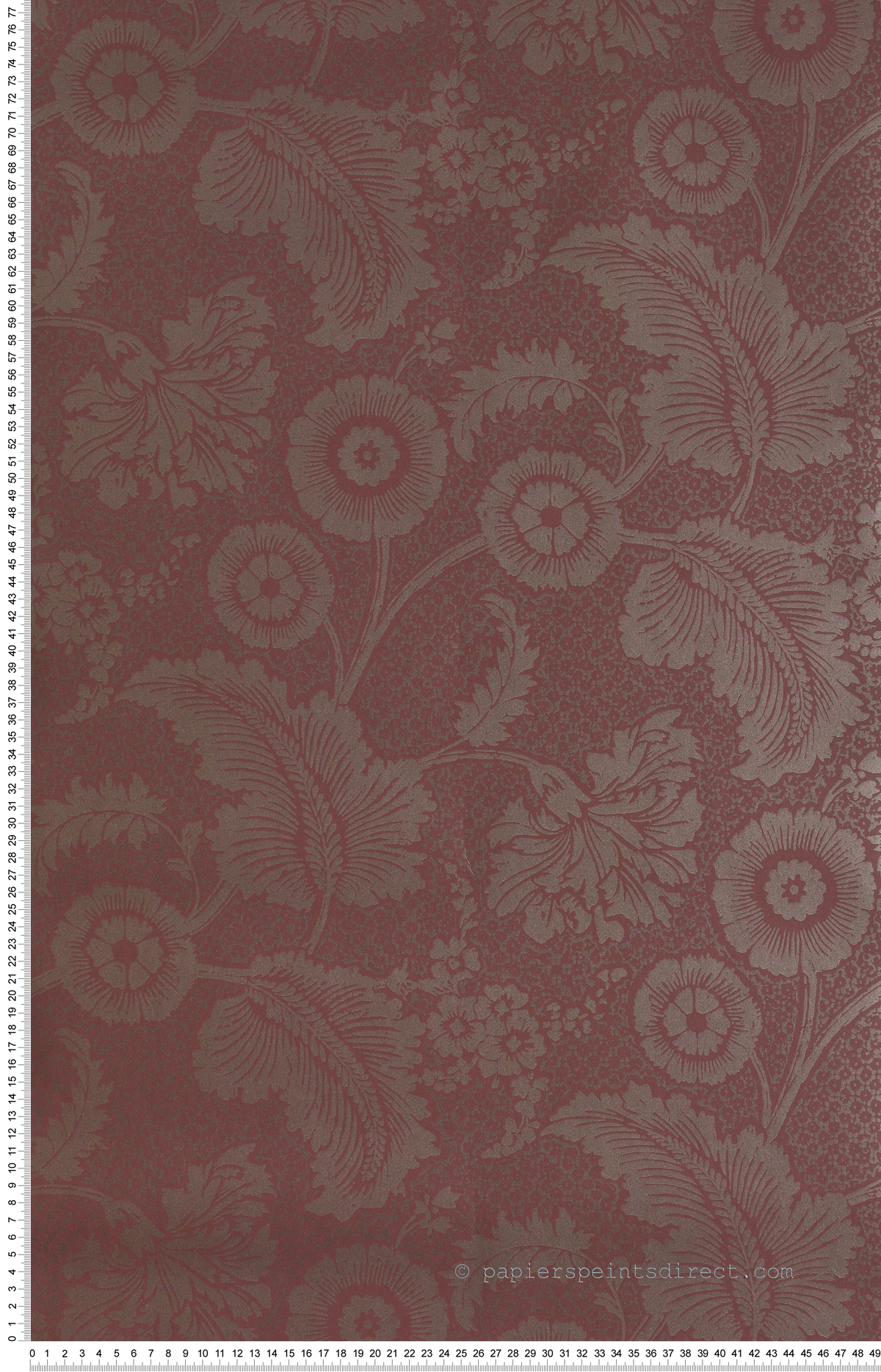 Piccadilly Miroir - papier peint Revolution Papers de Little Greene