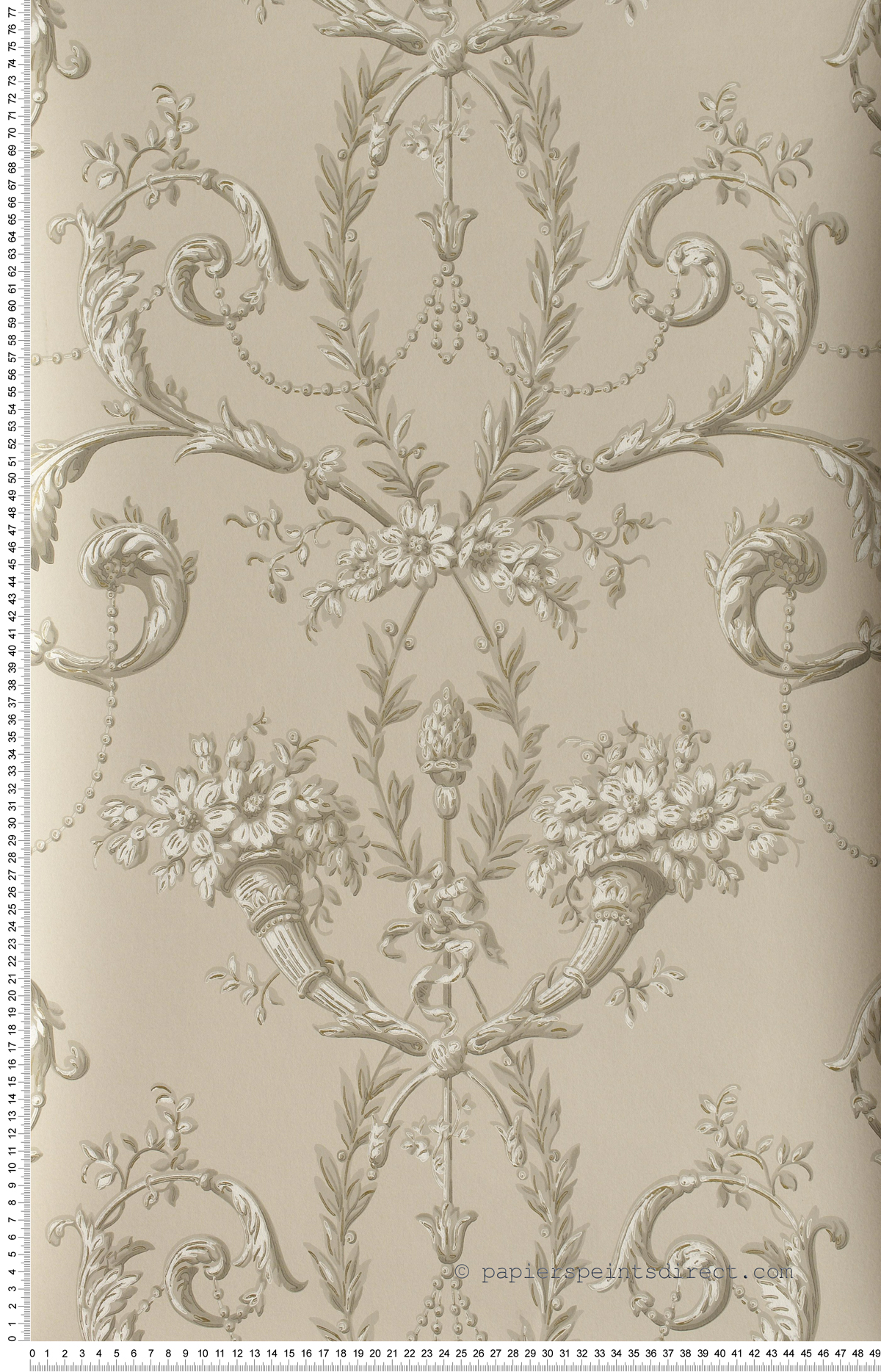 Versailles Guilded - papier peint Revolution Papers de Little Greene