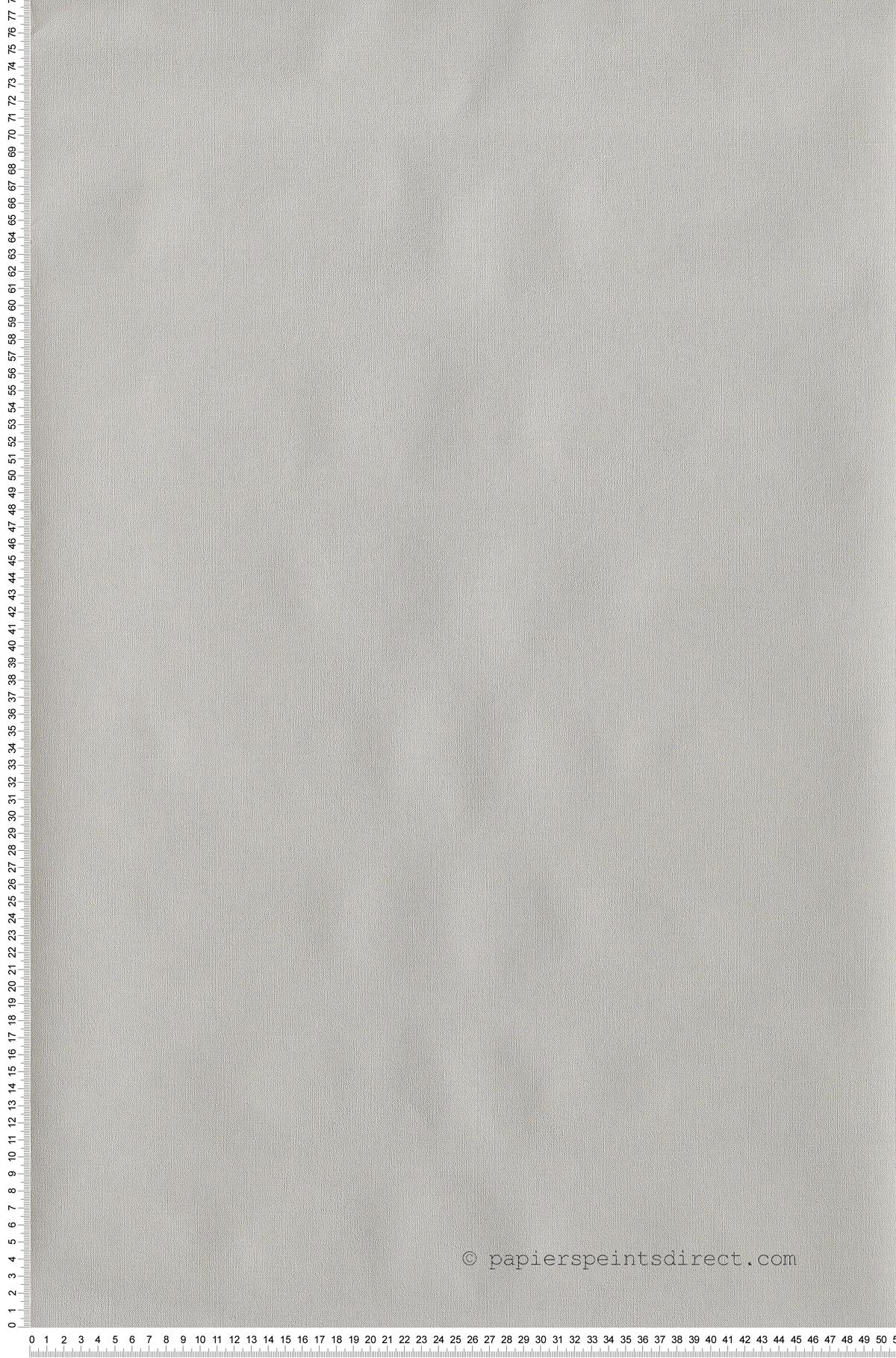 Uni Gris perle - papier peint Frégate