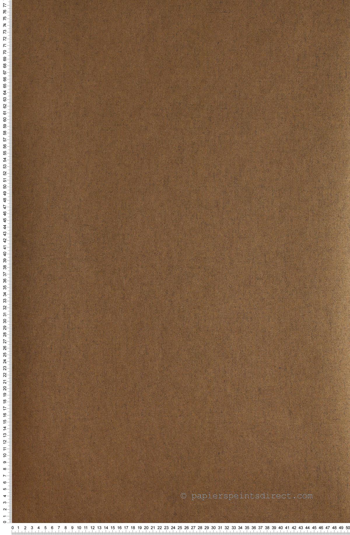 Uni Cuivre Divine - papier peint Casadéco