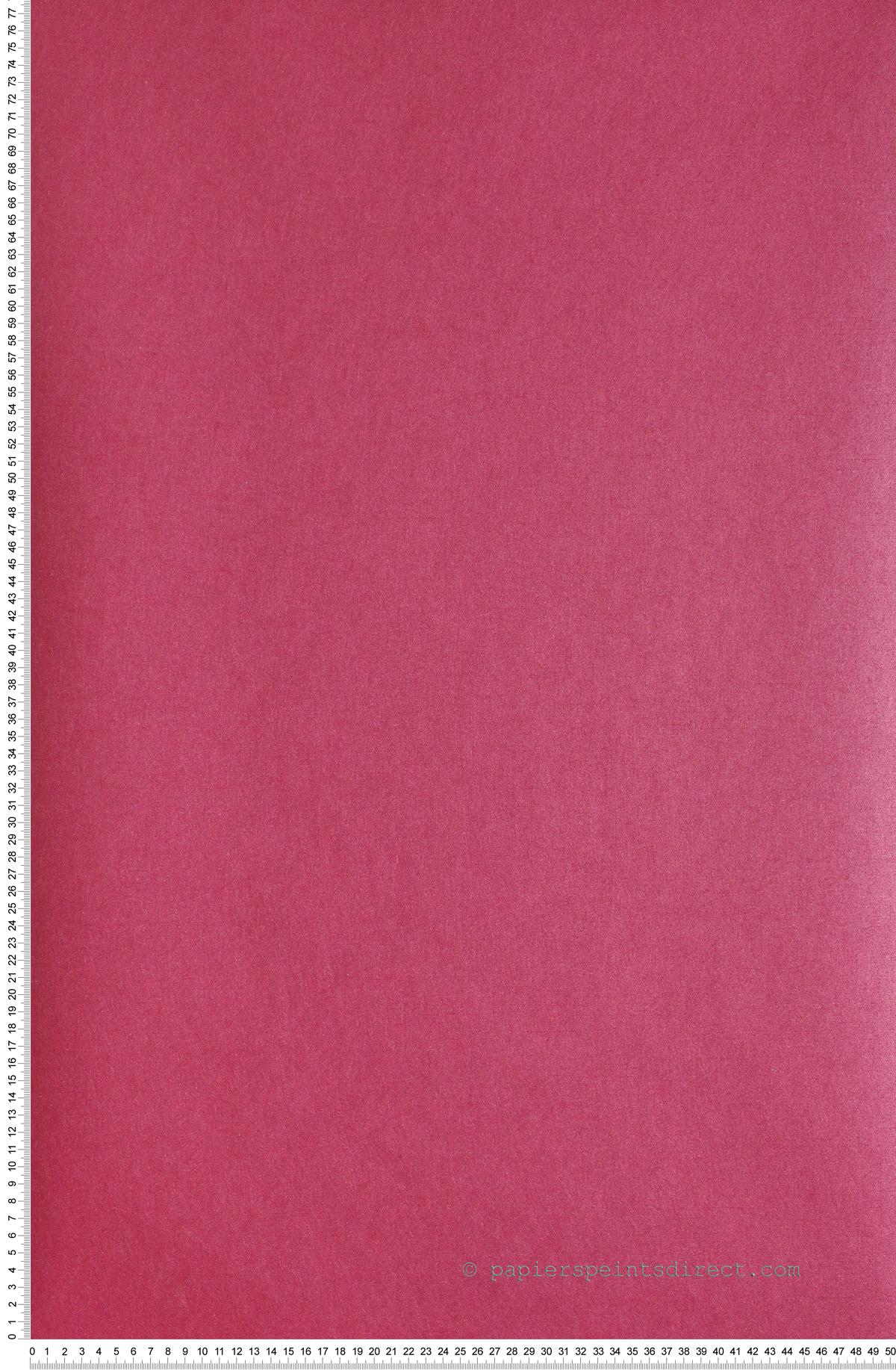 Uni Fushia Divine - papier peint Casadéco