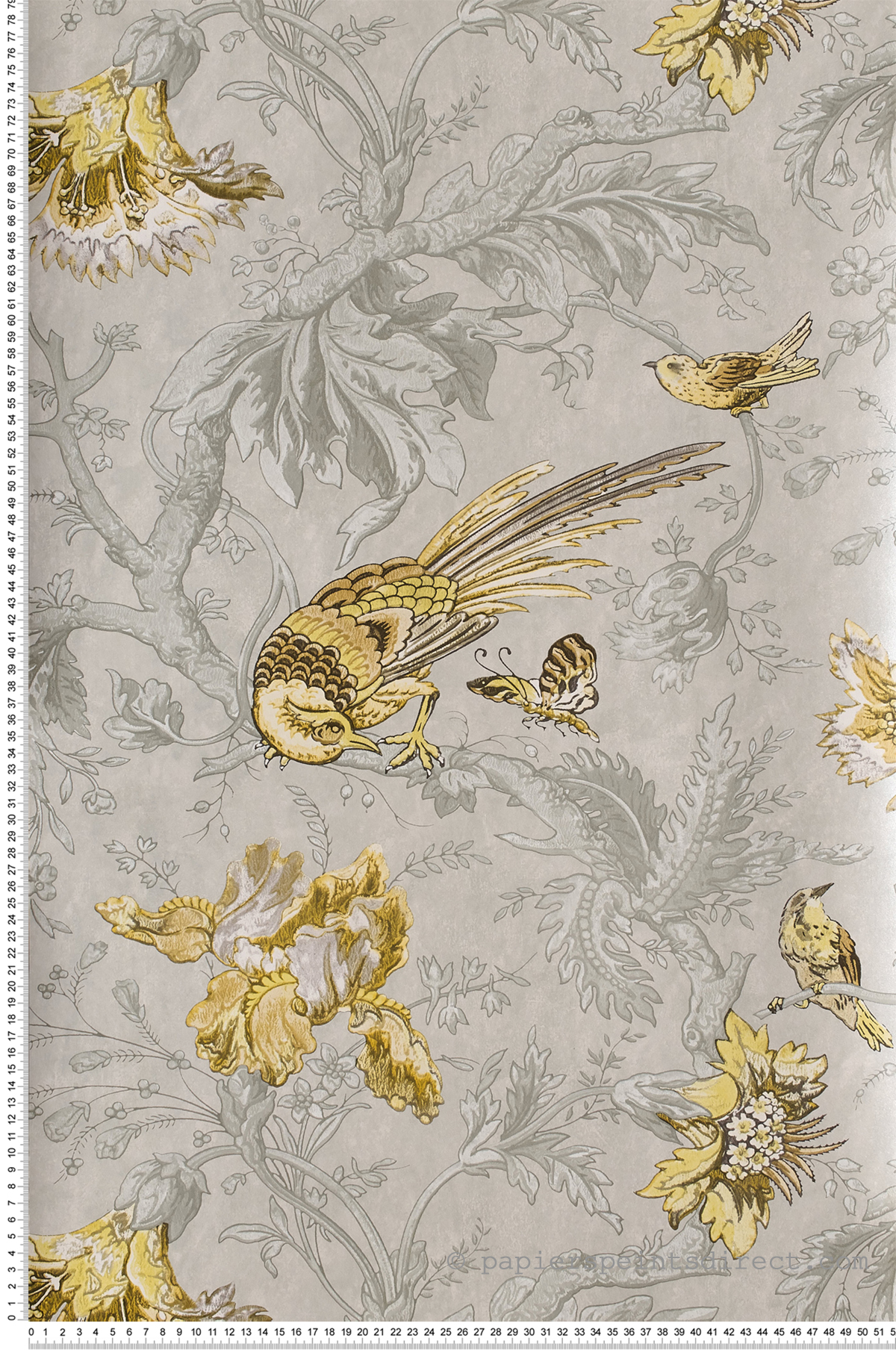 Crowe Hall Lane Gilt - Collection Archive Trails 2 de Little Greene