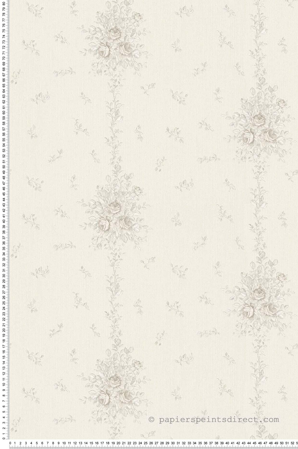 Papier peint Liane Chantilly argent - Château 5 AS Création | Réf. SP04239