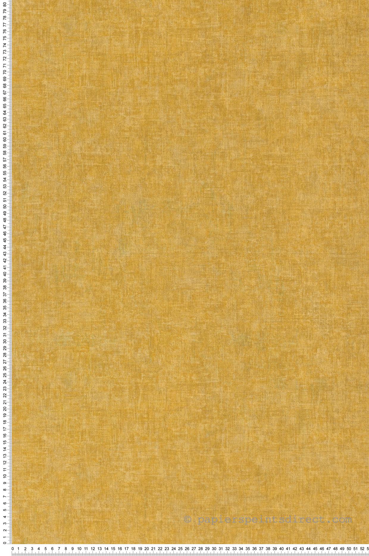 Papier Peint Jaune Moutarde papier peint william jaune moutarde - chelsea de casadeco