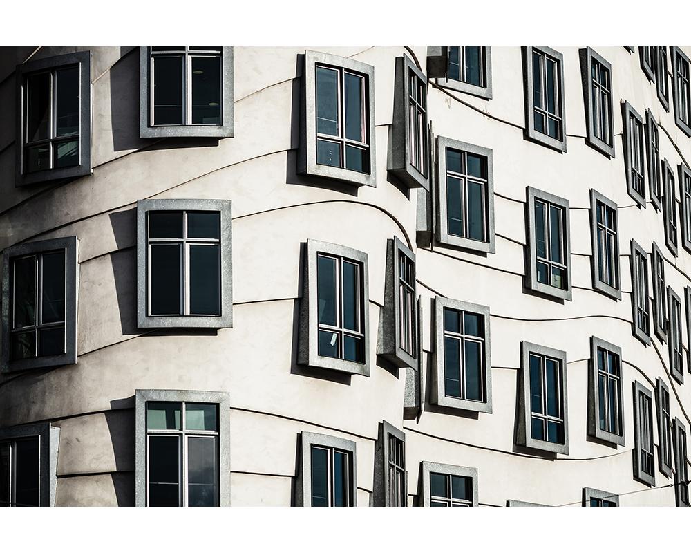 Fenêtres - Papier peint XXL Digital Architects Paper