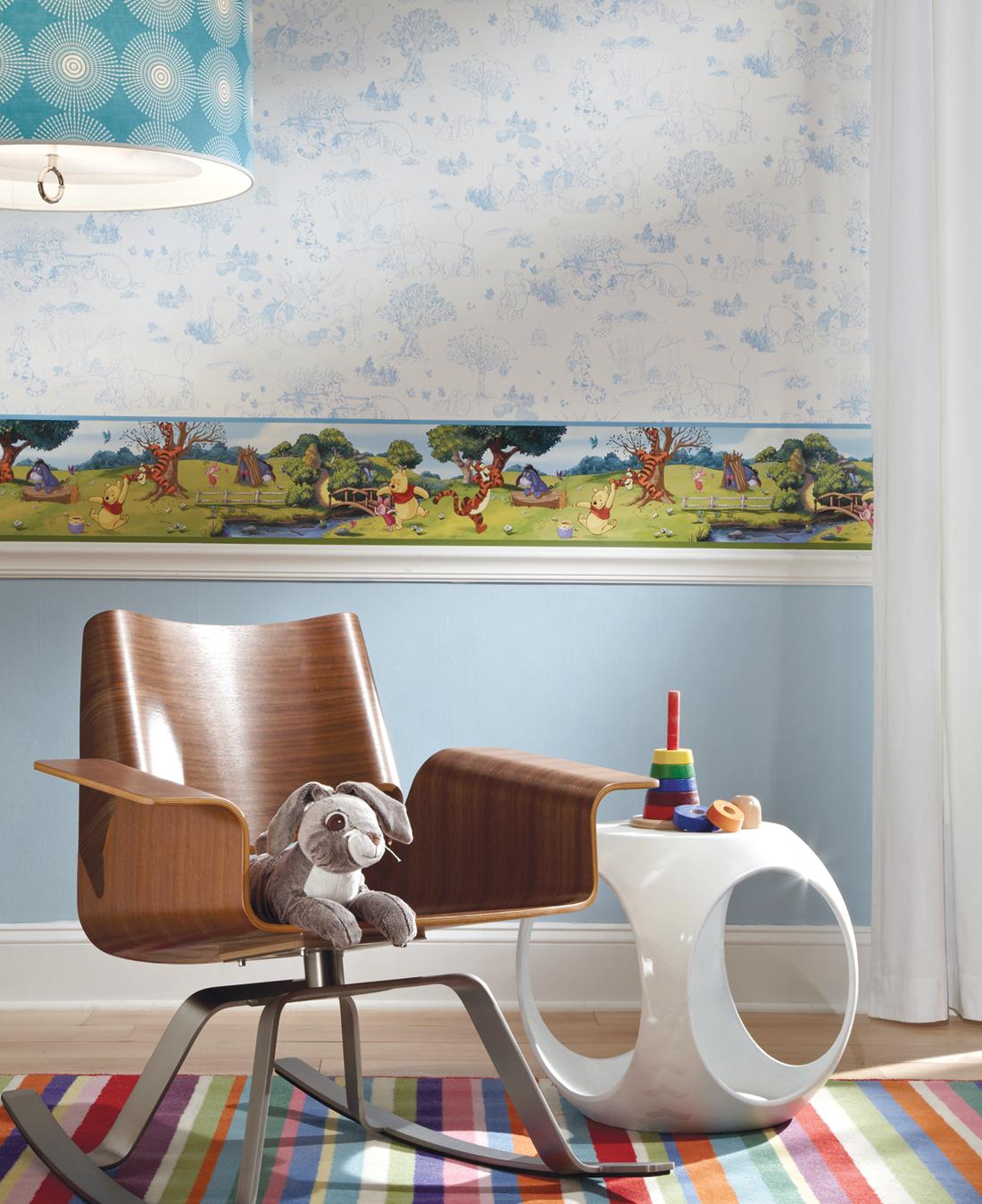 Frise Winnie l'Ourson - Disney de Lutèce AMB | Réf. LTC-DS7765BD