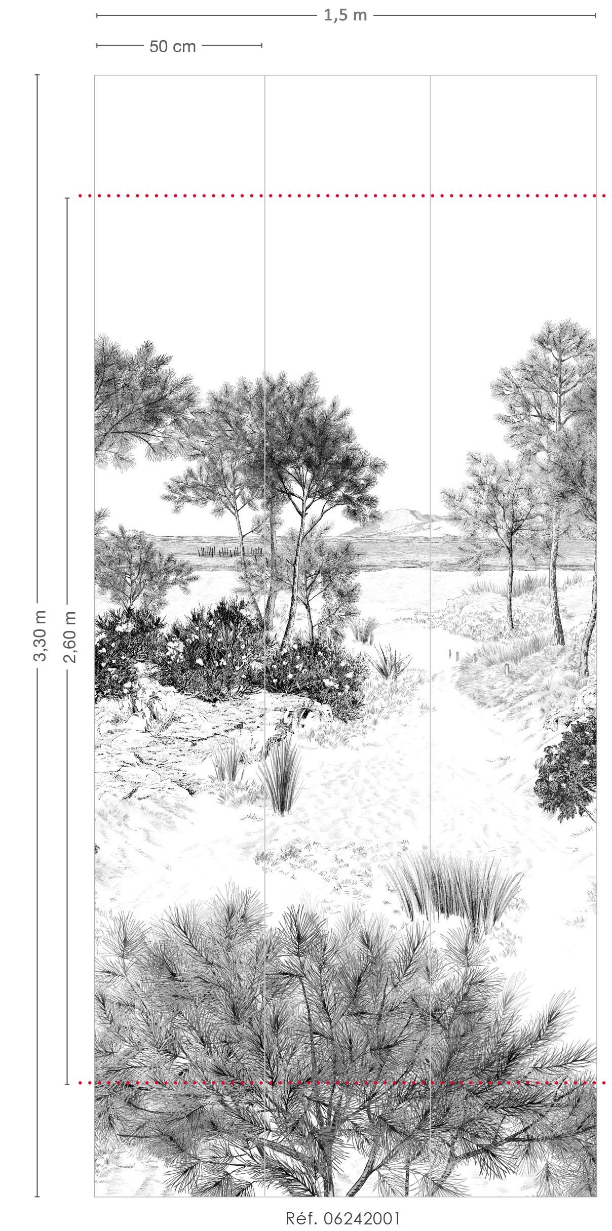 Papier Peint Panoramique Paysage papier peint panoramique dune - 1/2/3 - isidore leroy