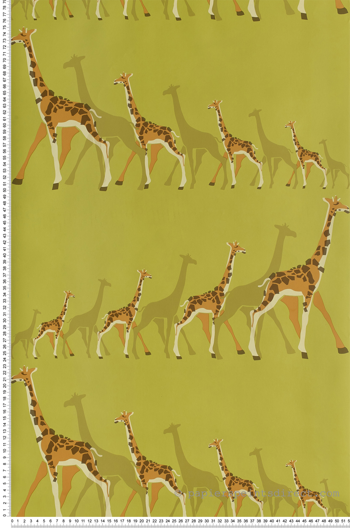 Girafe vert - Collection Dwell Studio de York by Initiales