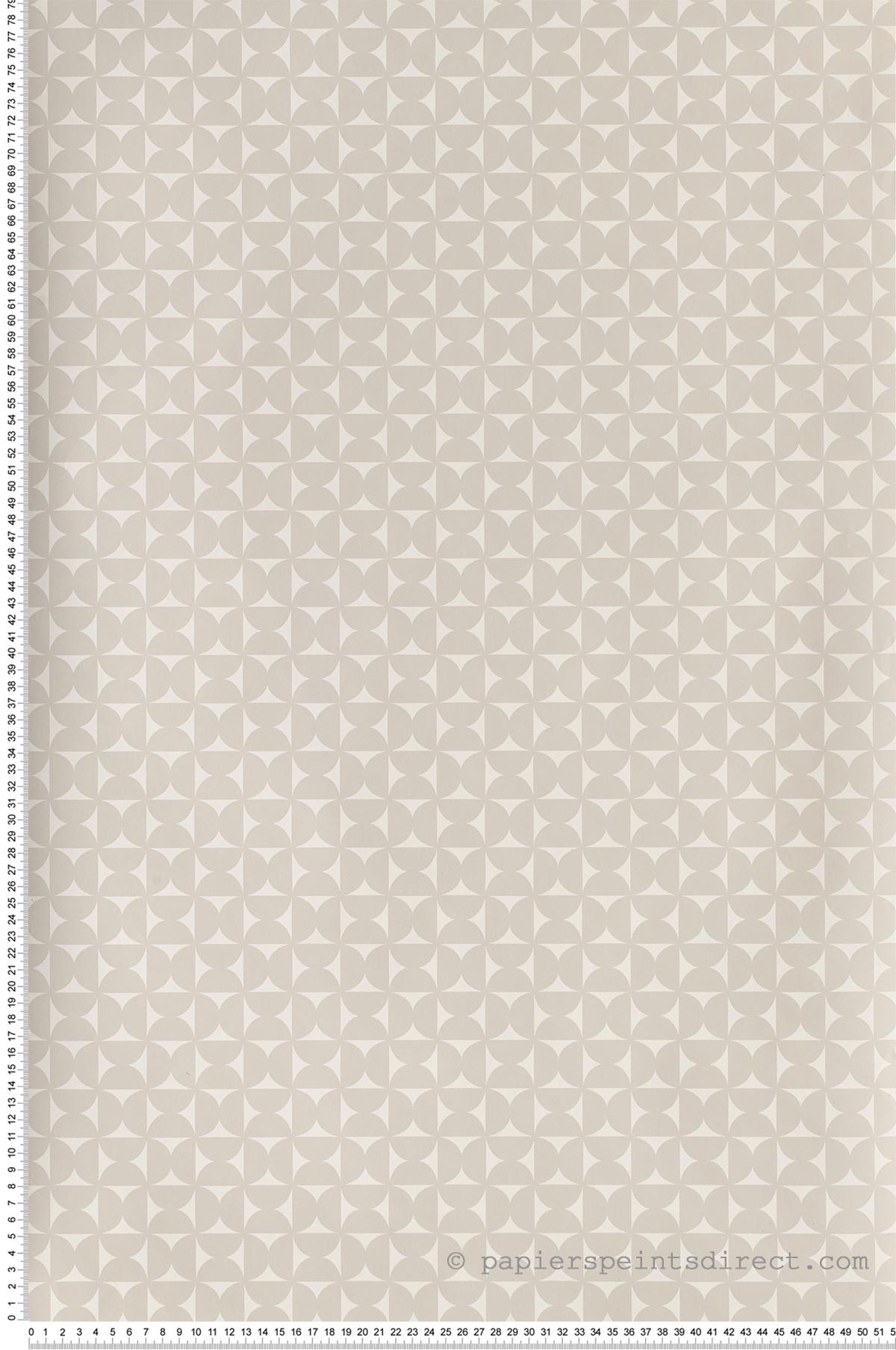 Géométrie gris - Collection Dwell Studio de York by Initiales