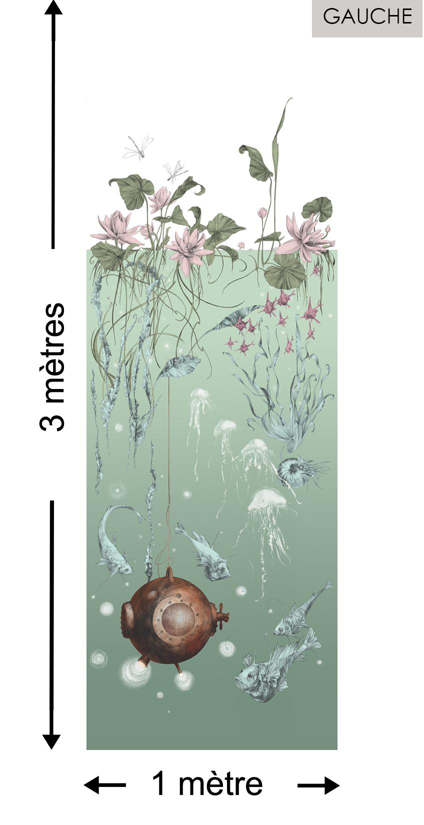 Nautilus GAUCHE Aqua - Collection Catherine Gran de Edmond Petit