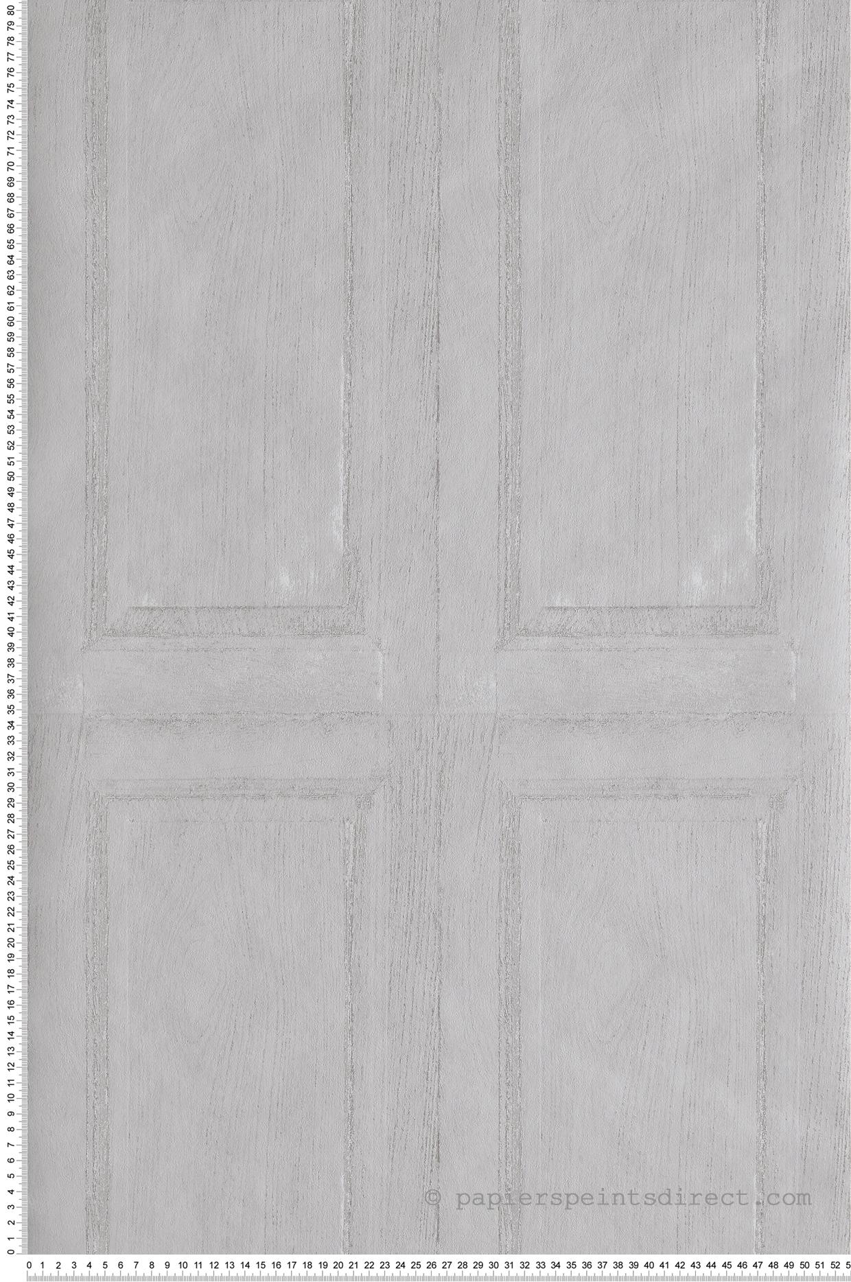 Soubassement Couloir En Bois papier peint soubassement panneau bois gris - babyland de lutèce