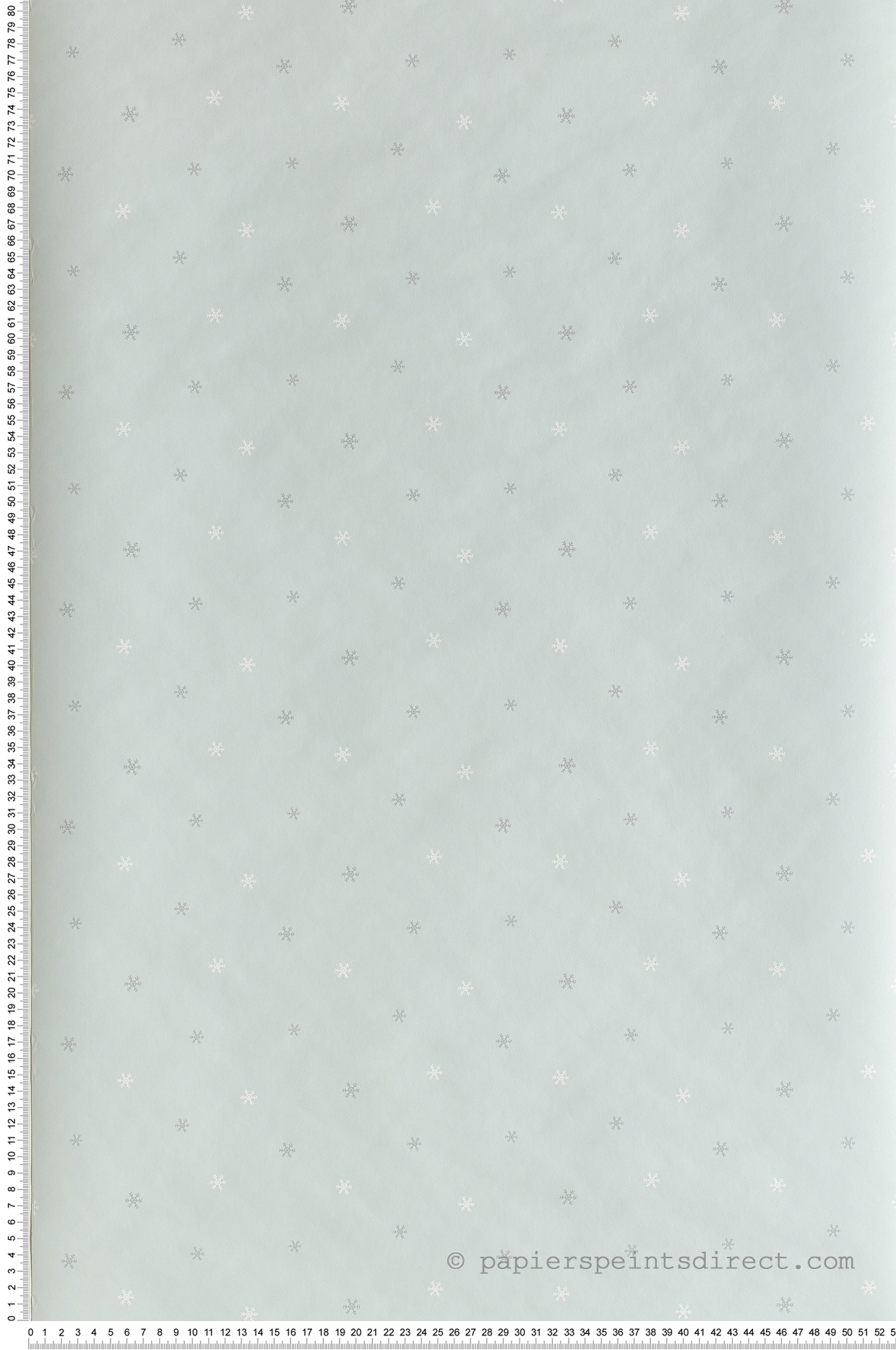 Papier peint enfant Flocons bleu - Happy Dreams de Casadéco   Réf. HPDM82836127