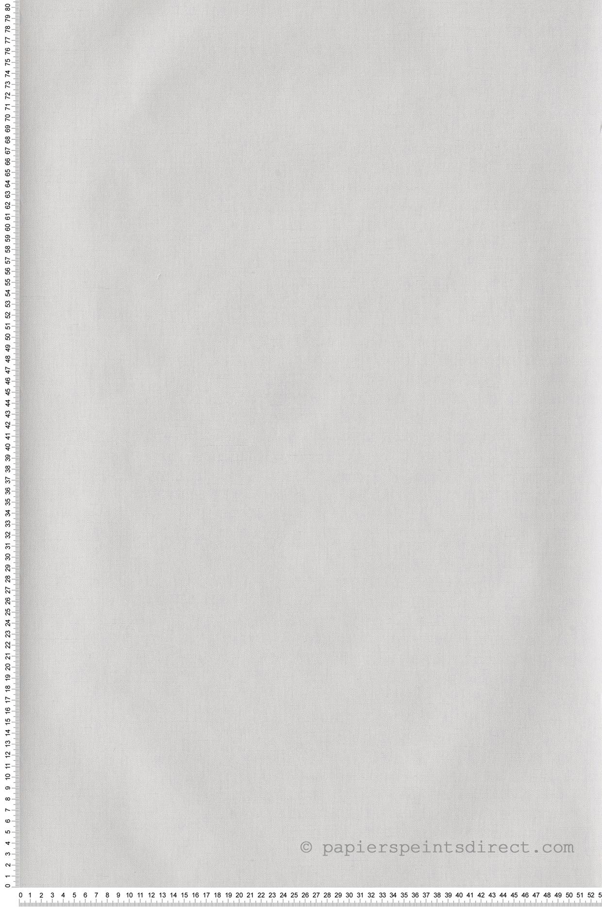 Papier peint Uni blanc gris - Hygge de Casélio   HYG100601010