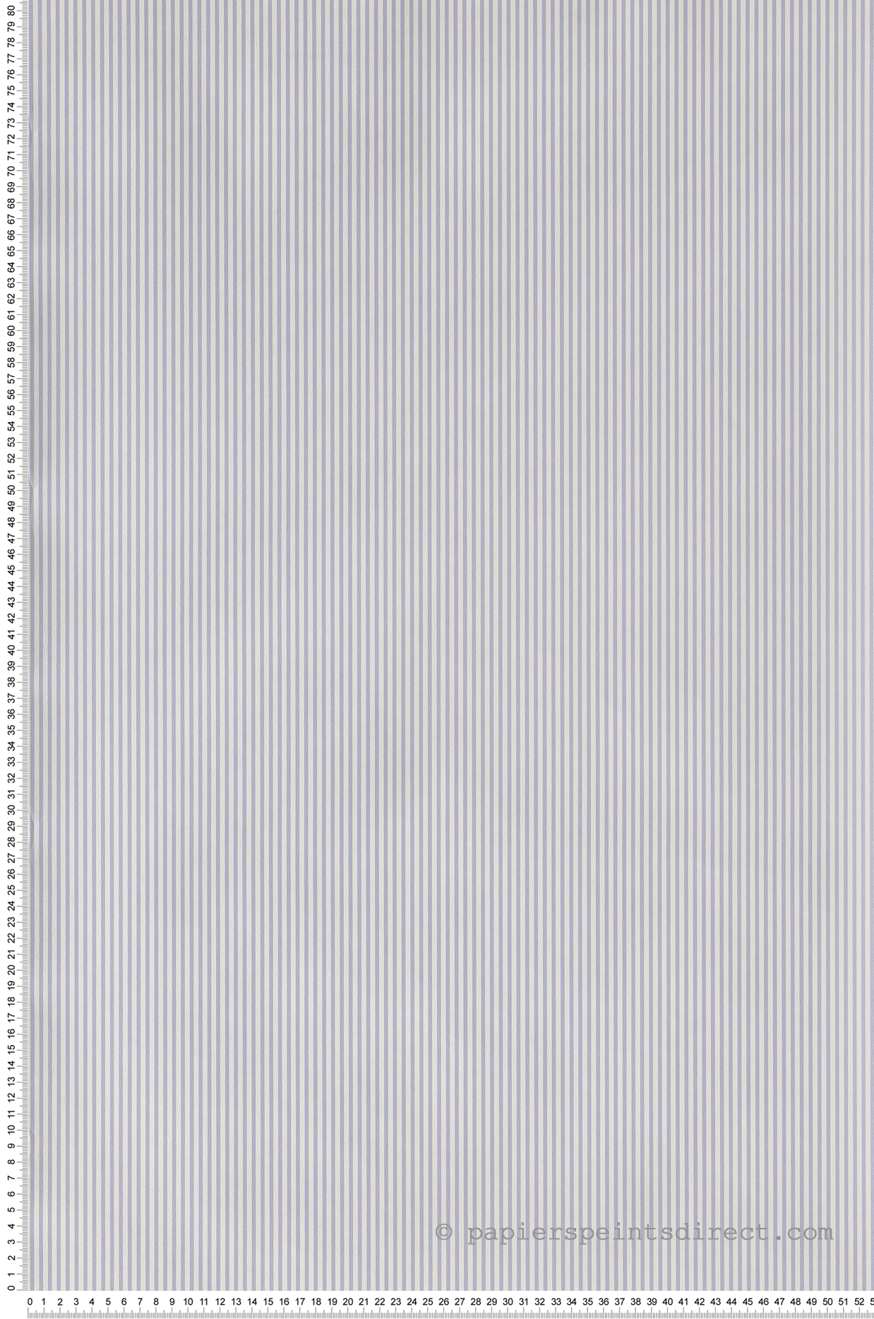 Papier Peint Fines rayures bleu - Jacadi de Lutèce  | Réf. LTC-11092001