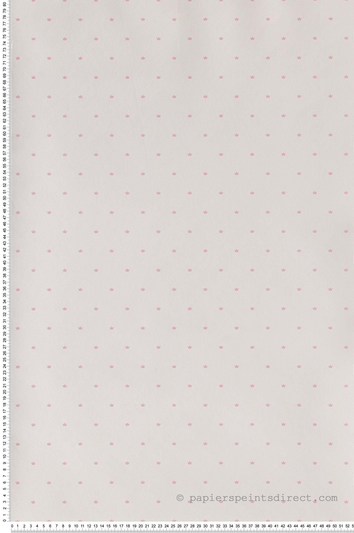 Papier Peint Couronne rose - Jacadi de Lutèce    Réf. LTC-36171303