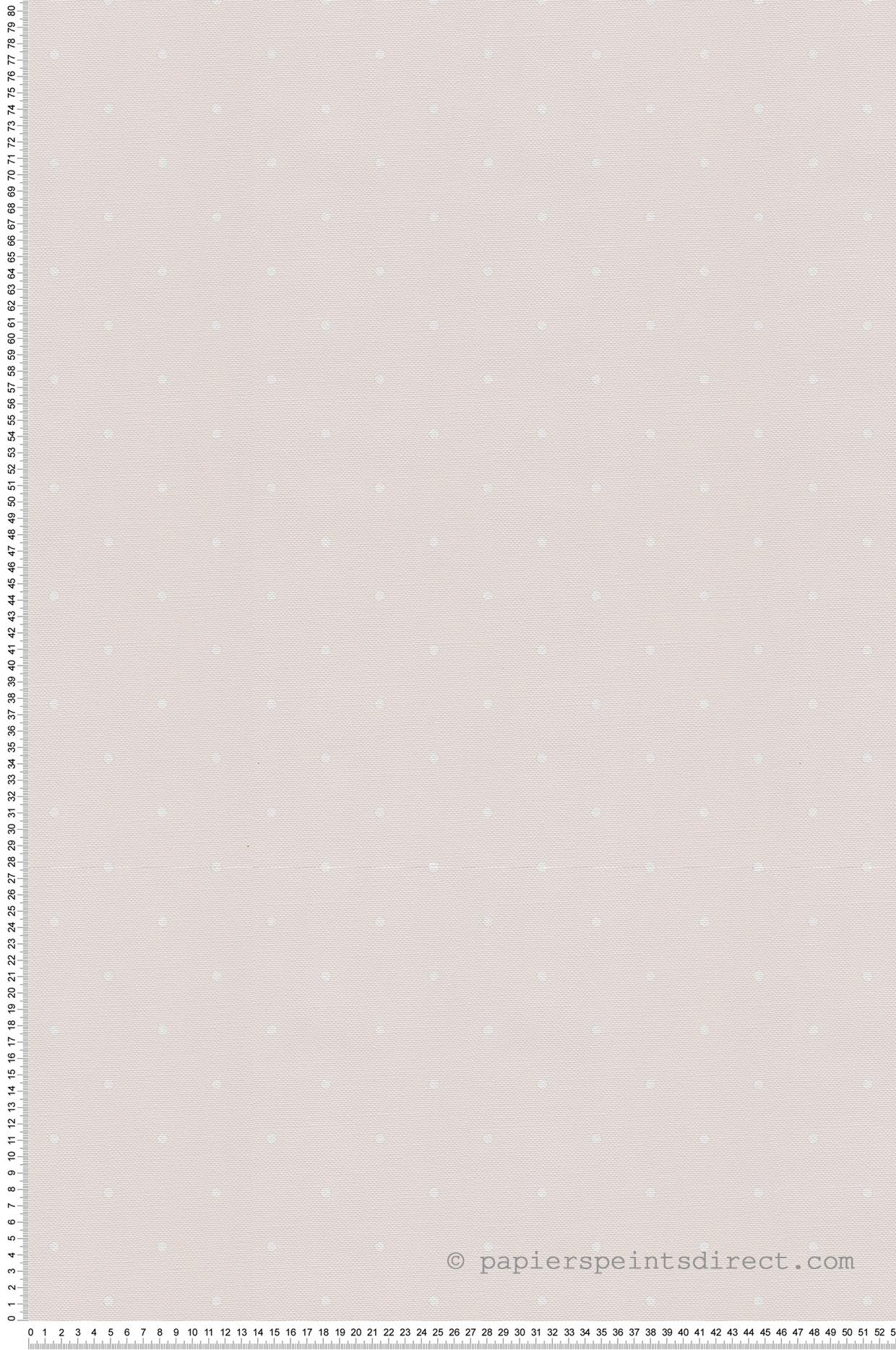 Papier peint enfant Pois grège - Jack N Rose 2 de Montecolino | Réf. MC-LL04020