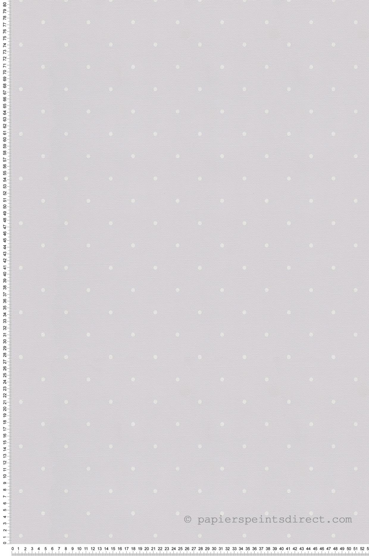 Papier peint enfant Pois gris - Jack N Rose 2 de Montecolino   Réf. MC-LL04118