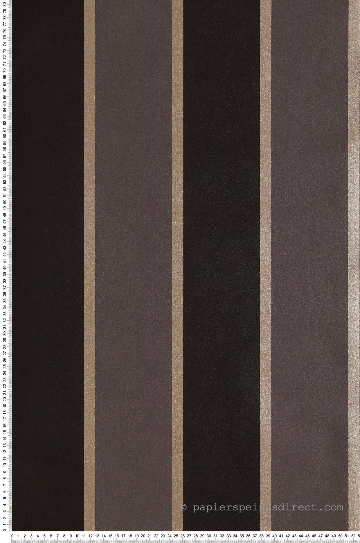 Papier Peint A Rayure Gris Et Blanc papier peint rayures larges bordées noir-gris - jeux de