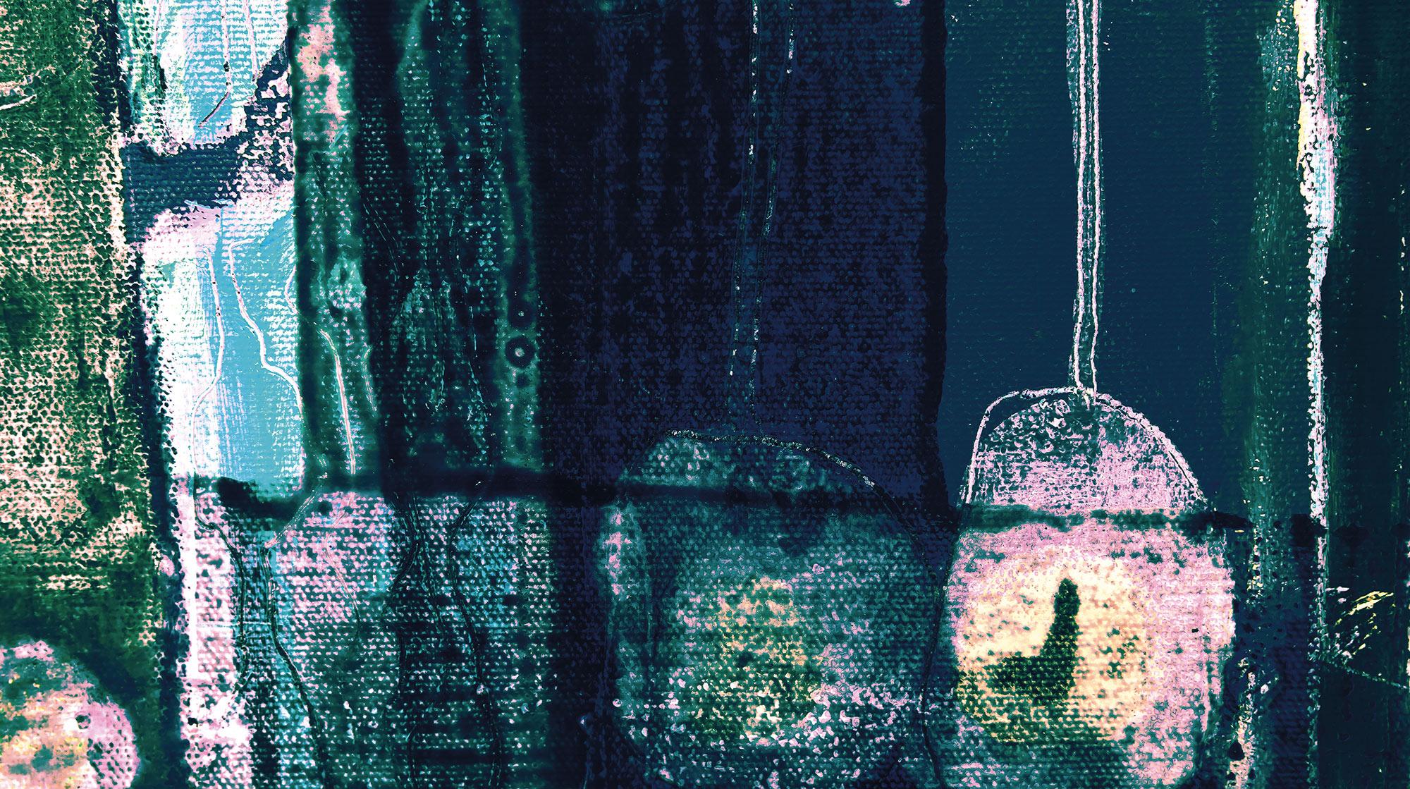Panoramique Bottles Lifting - Papier peint Komar