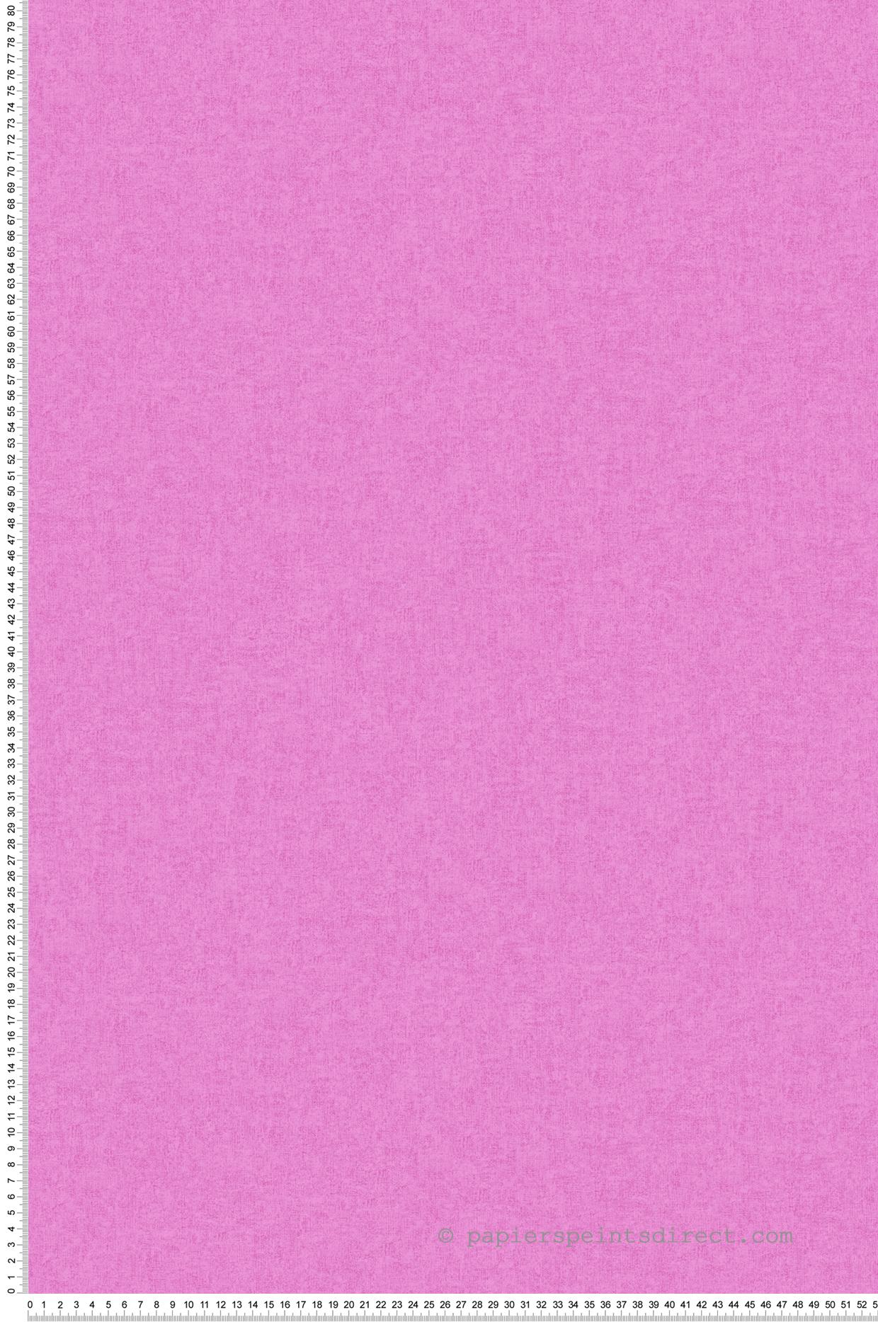 Papier peint uni rose magenta - Little Stars AS Création | Réf. SP04339