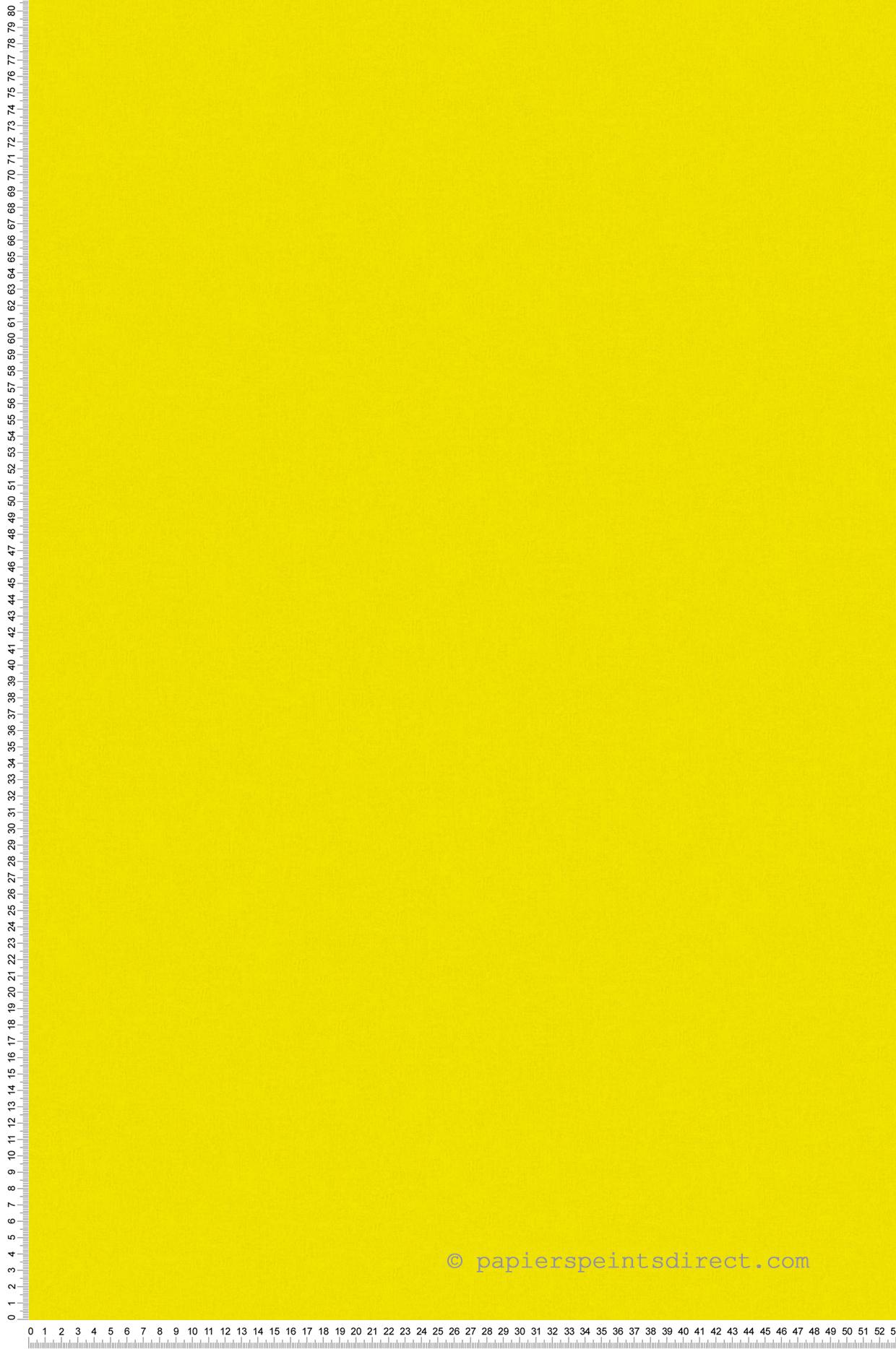 Papier peint uni jaune poussin - Little Stars AS Création | Réf. SP04352