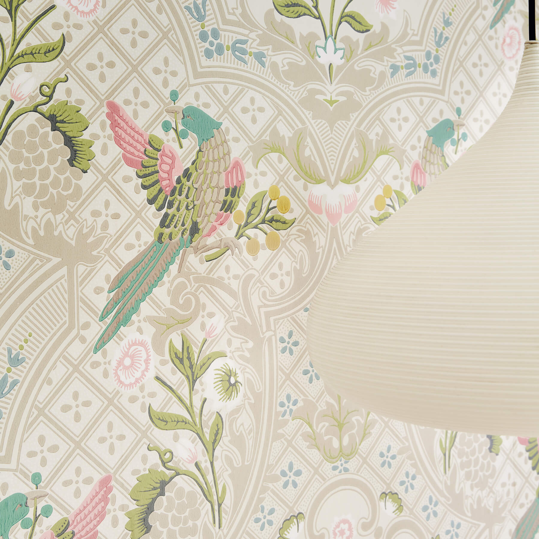 Papier peint Brodsworth Consort - Collection London Wallpapers V de Little Greene AMB
