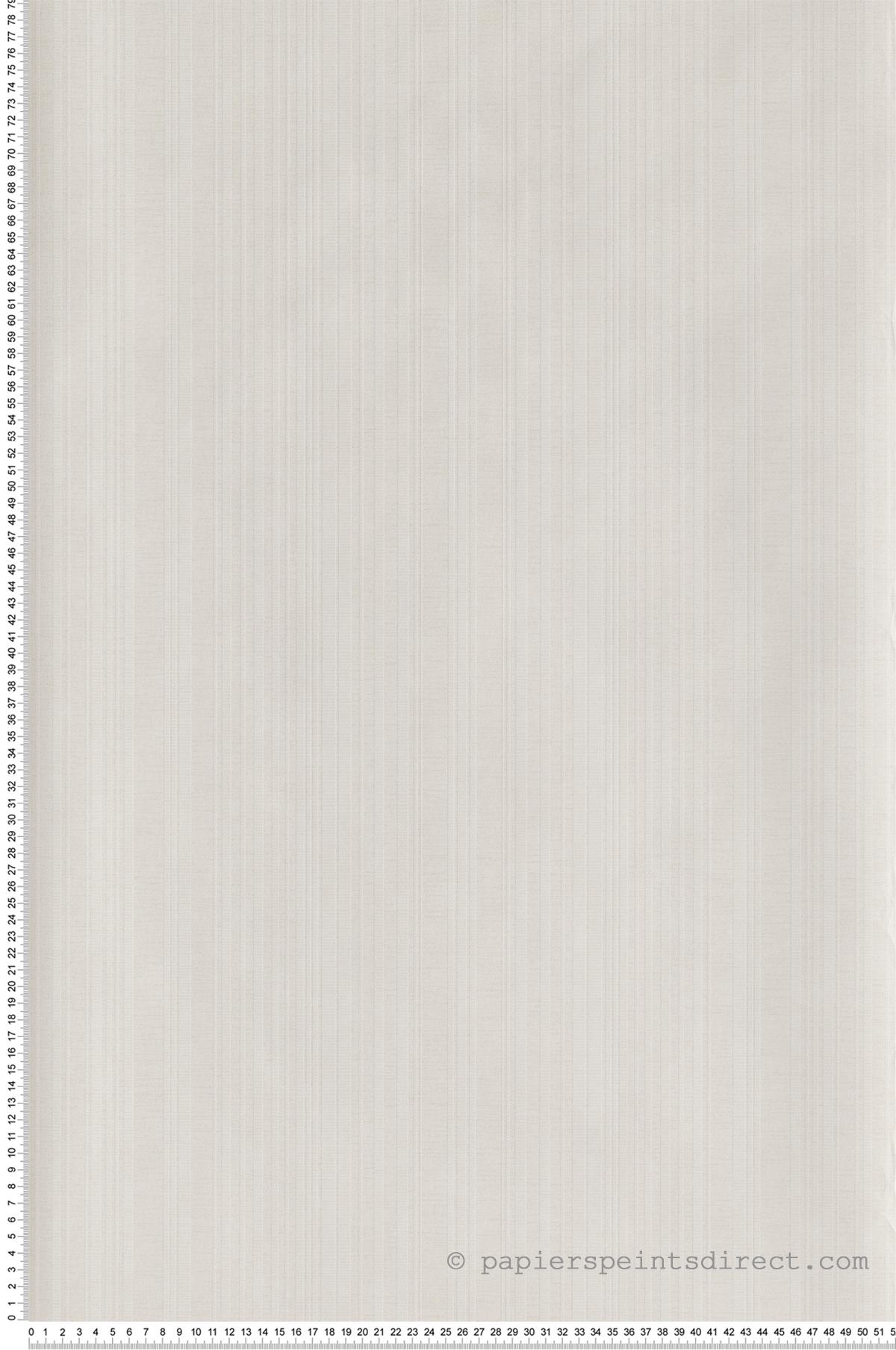 Papier Peint A Rayure Gris Et Blanc papier peint rayures ton/ton gris clair/blanc - maui maui d