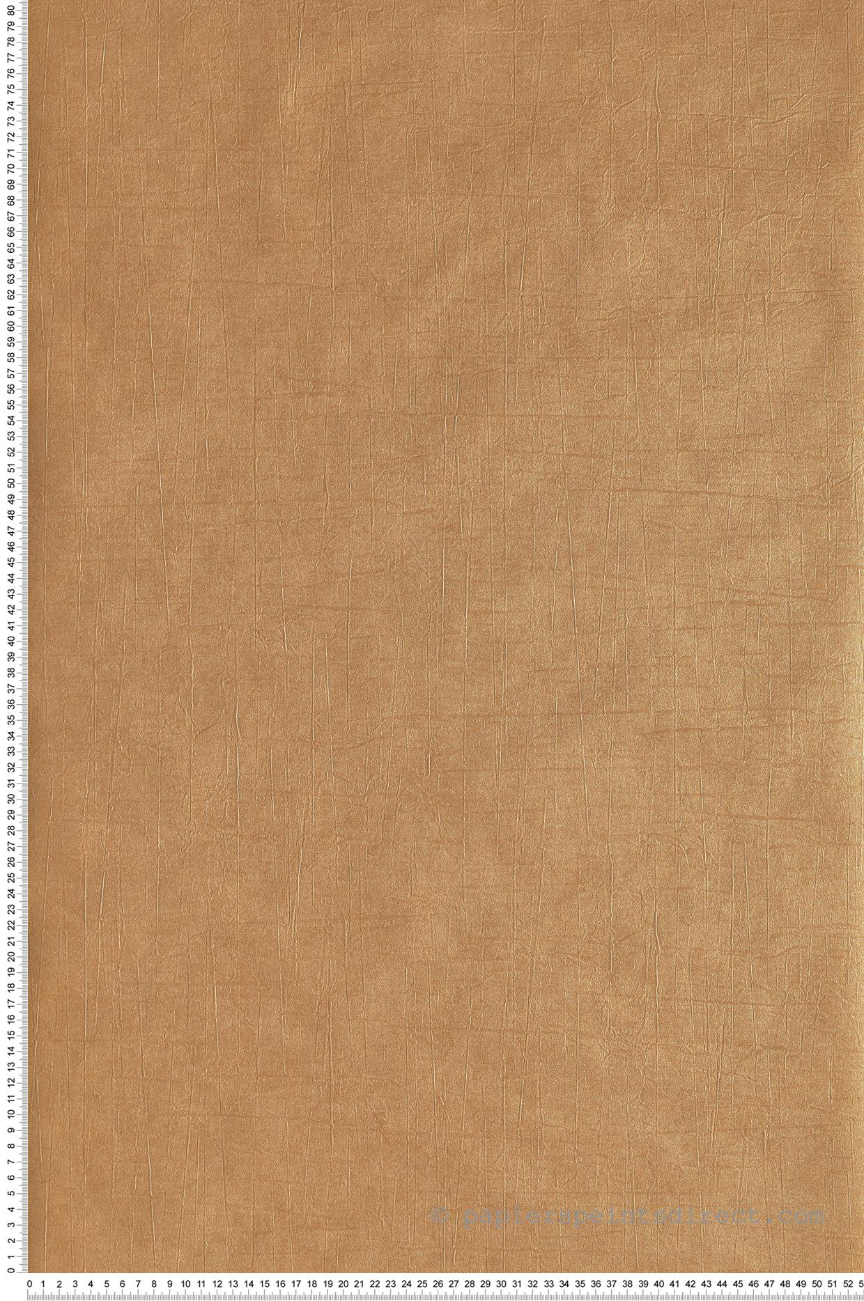 Papier Peint Métallisé Uni Washi Jaune Safran Doré Nova De
