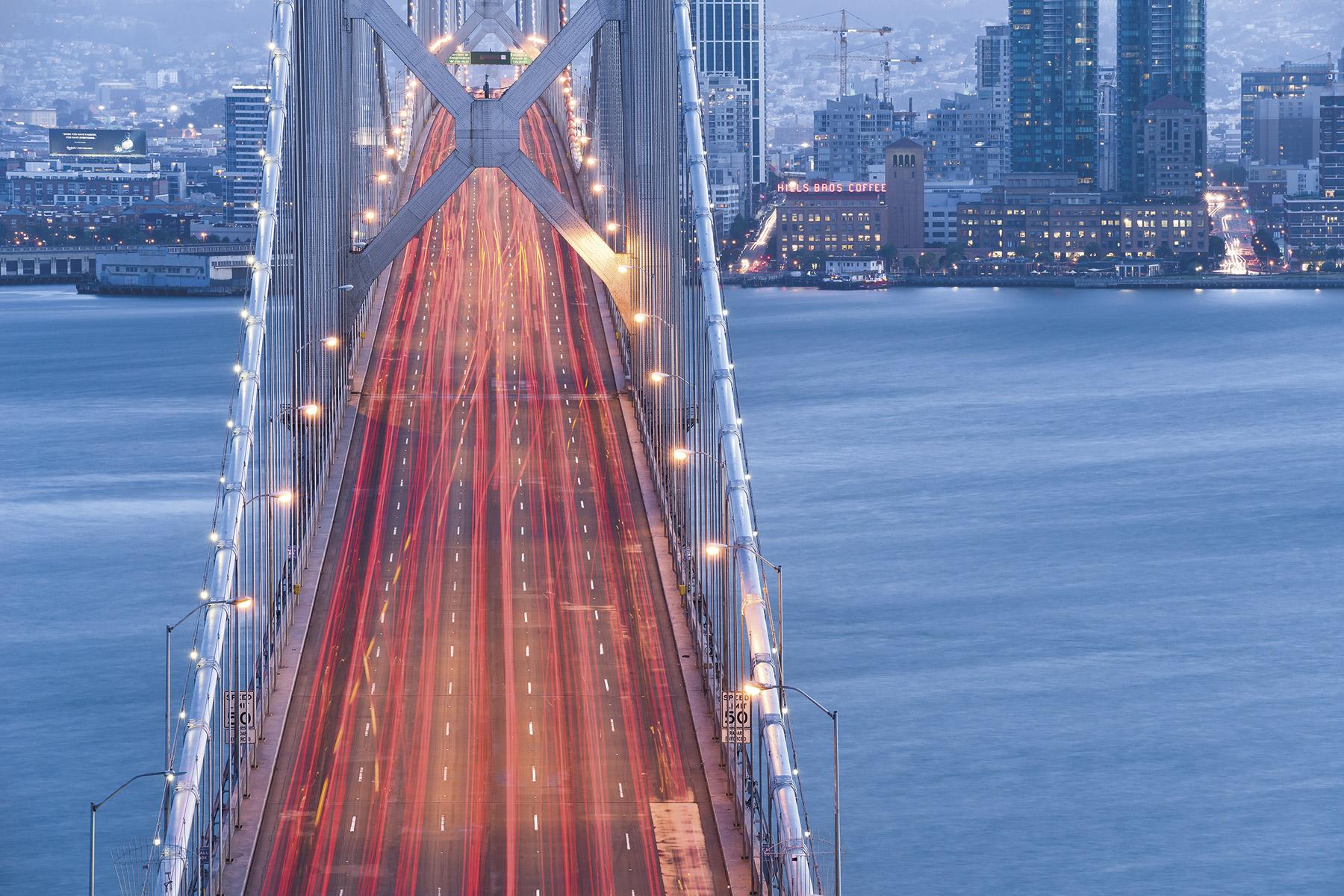 Panoramique San Francisco Blues - Papier peint Komar