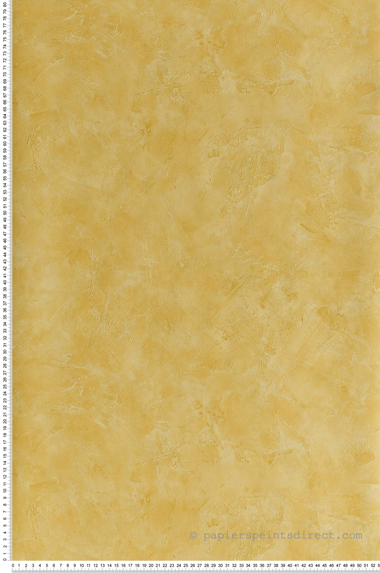 Papier peint Effet béton jaune provençal - Patine de Casélio | Réf. PAI100222679