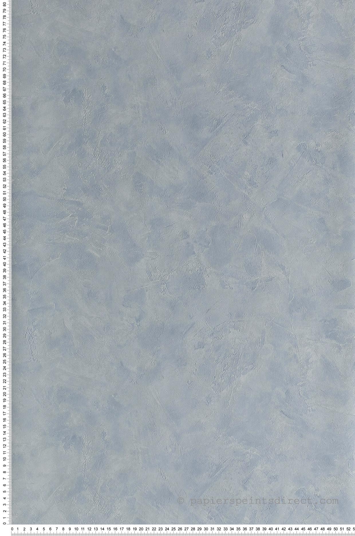 Papier peint Effet béton bleu clair - Patine de Casélio | Réf. PAI100226603