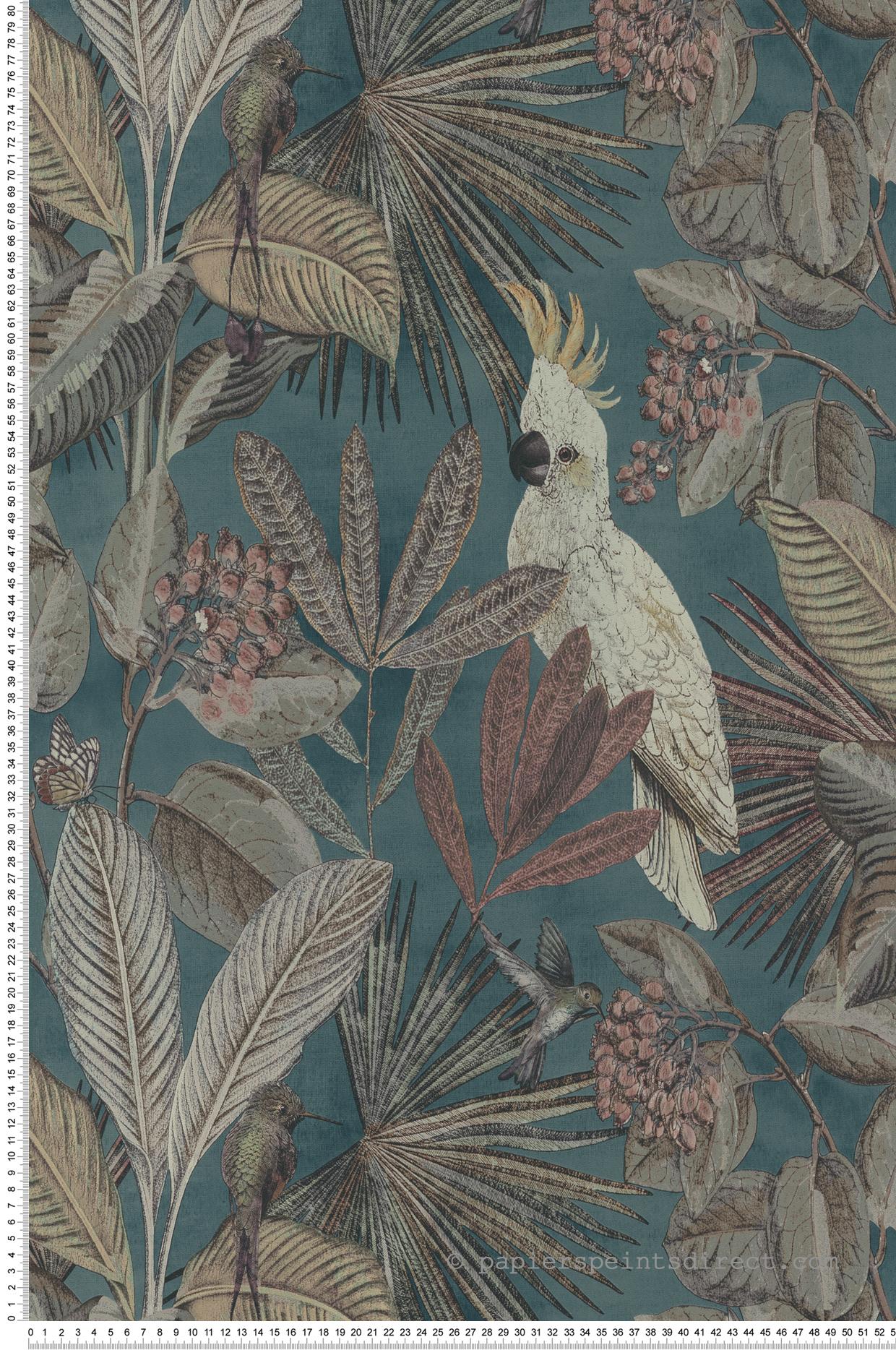 Papier Peint Avec Perroquet papier peint oiseaux tropicaux canard - savana de lutèce