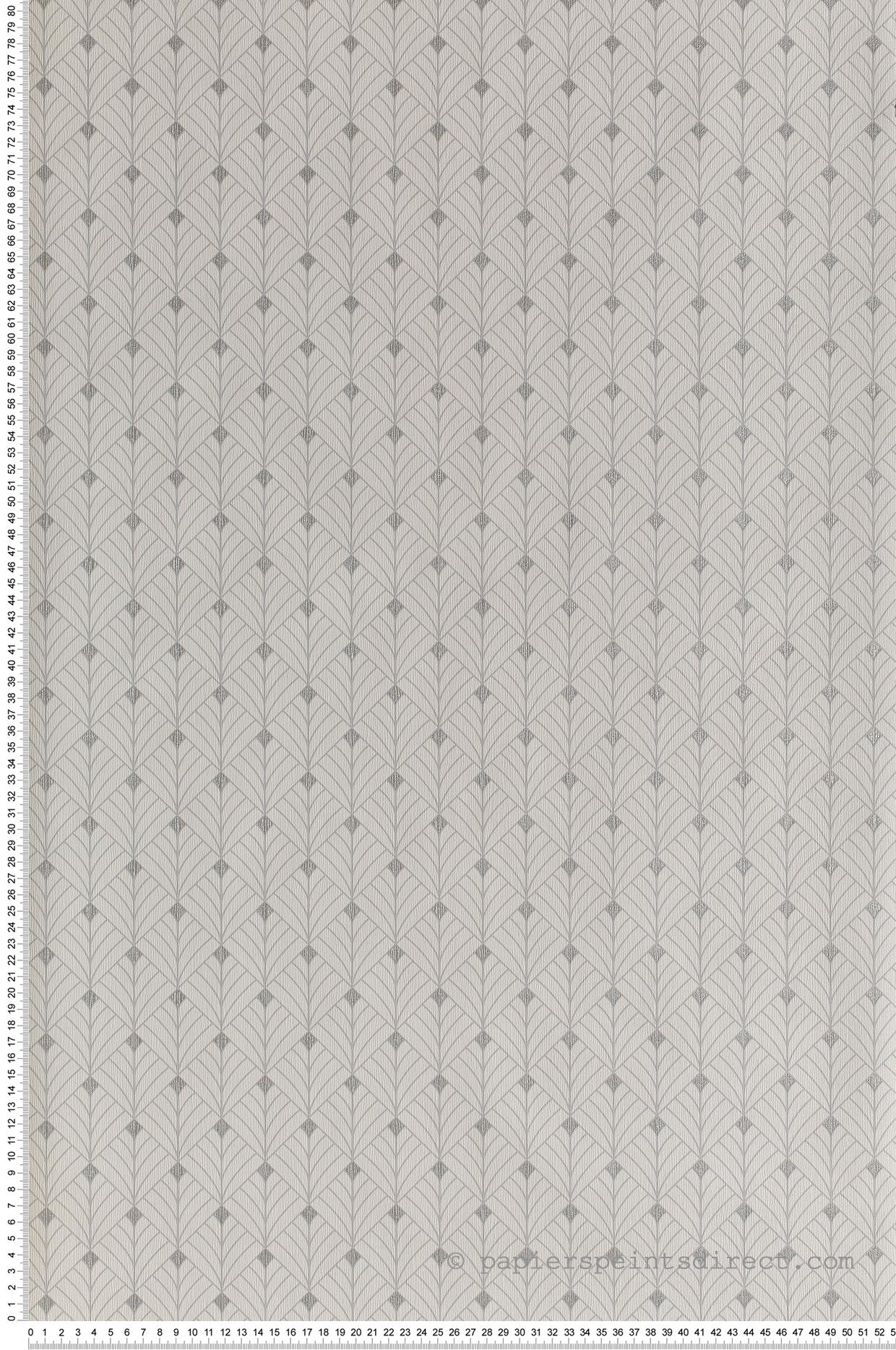 Papier Peint Art Deco Blanc papier peint art déco mistinguett blanc/gris/argenté