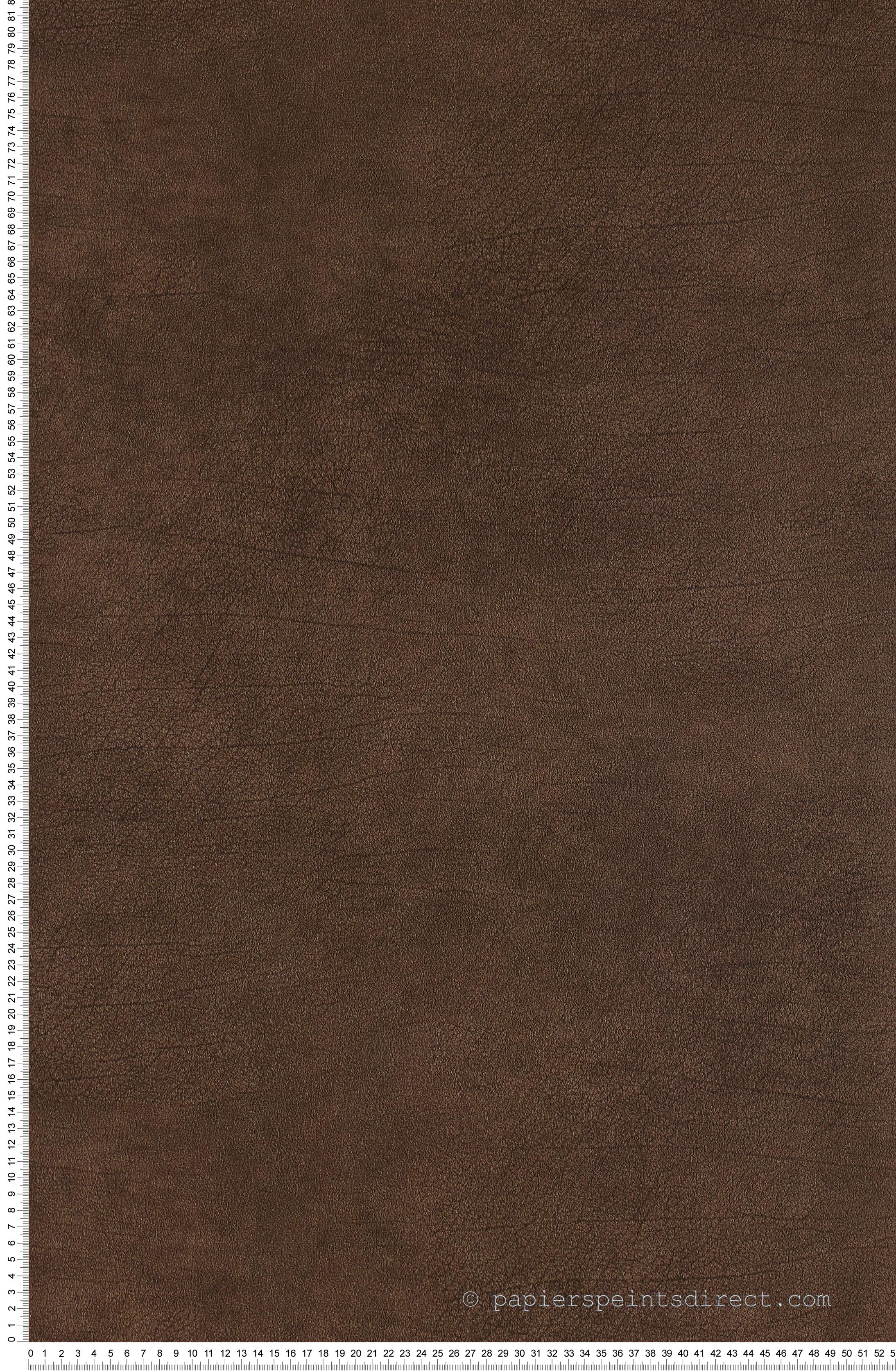 Cuir marron - Collection Shaman de Montécolino