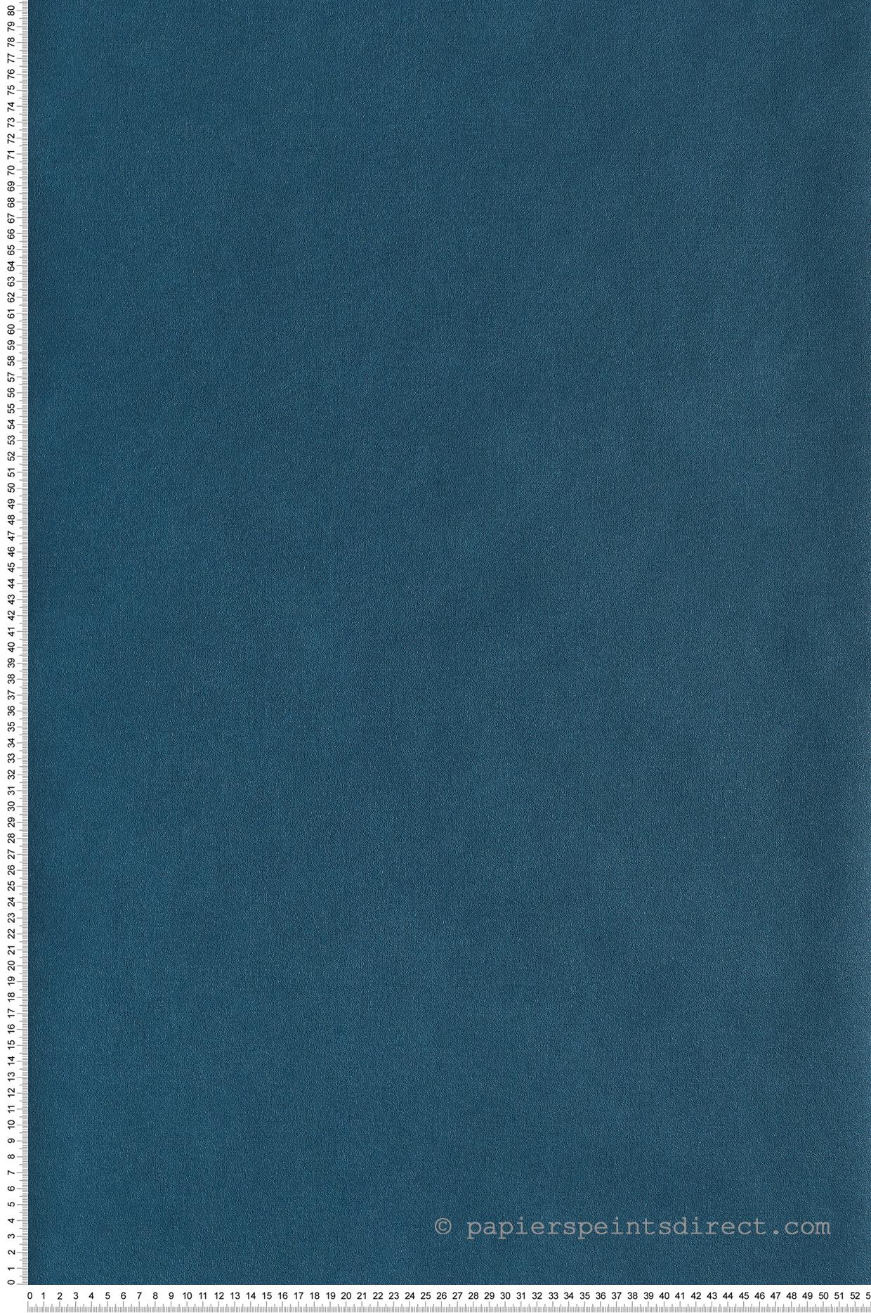 Papier peint Uni bleu canard - Spaces de Casélio   Réf. SPA64526060