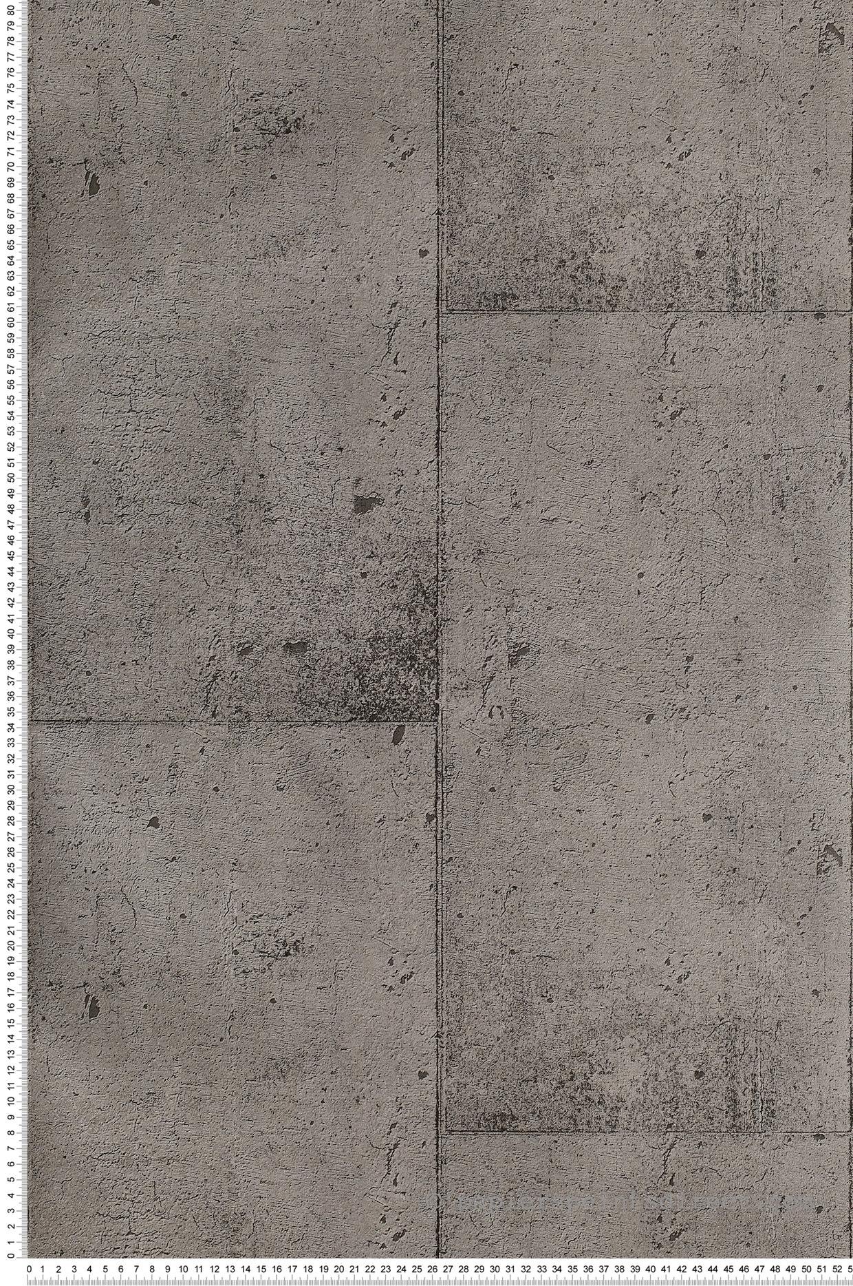 Mur Couleur Gris Beton papier peint mur béton gris usé - teenage street de montécolino