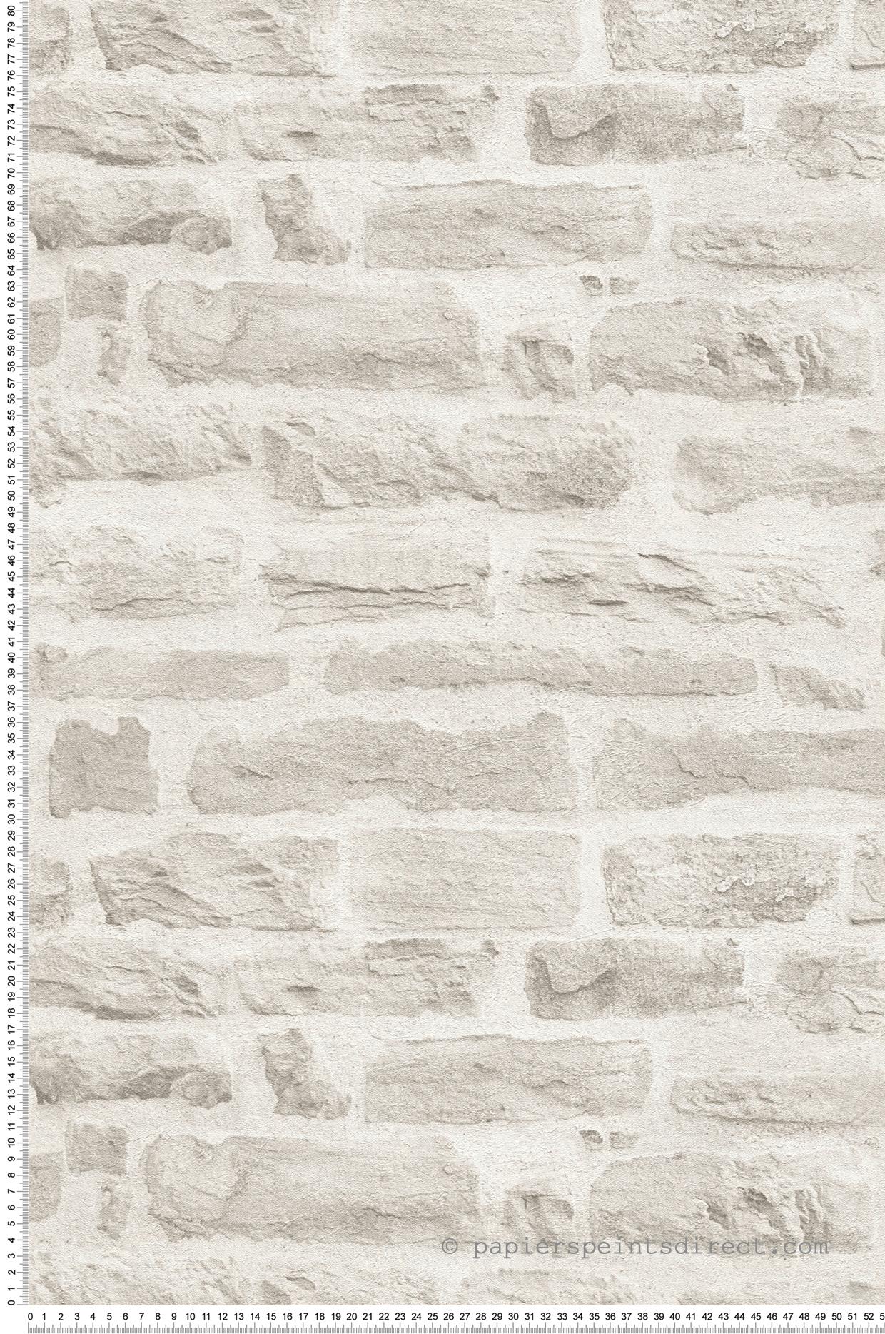 Peindre Couloir Gris Perle papier peint pierres gris perle - wood n stone 2 d'as création