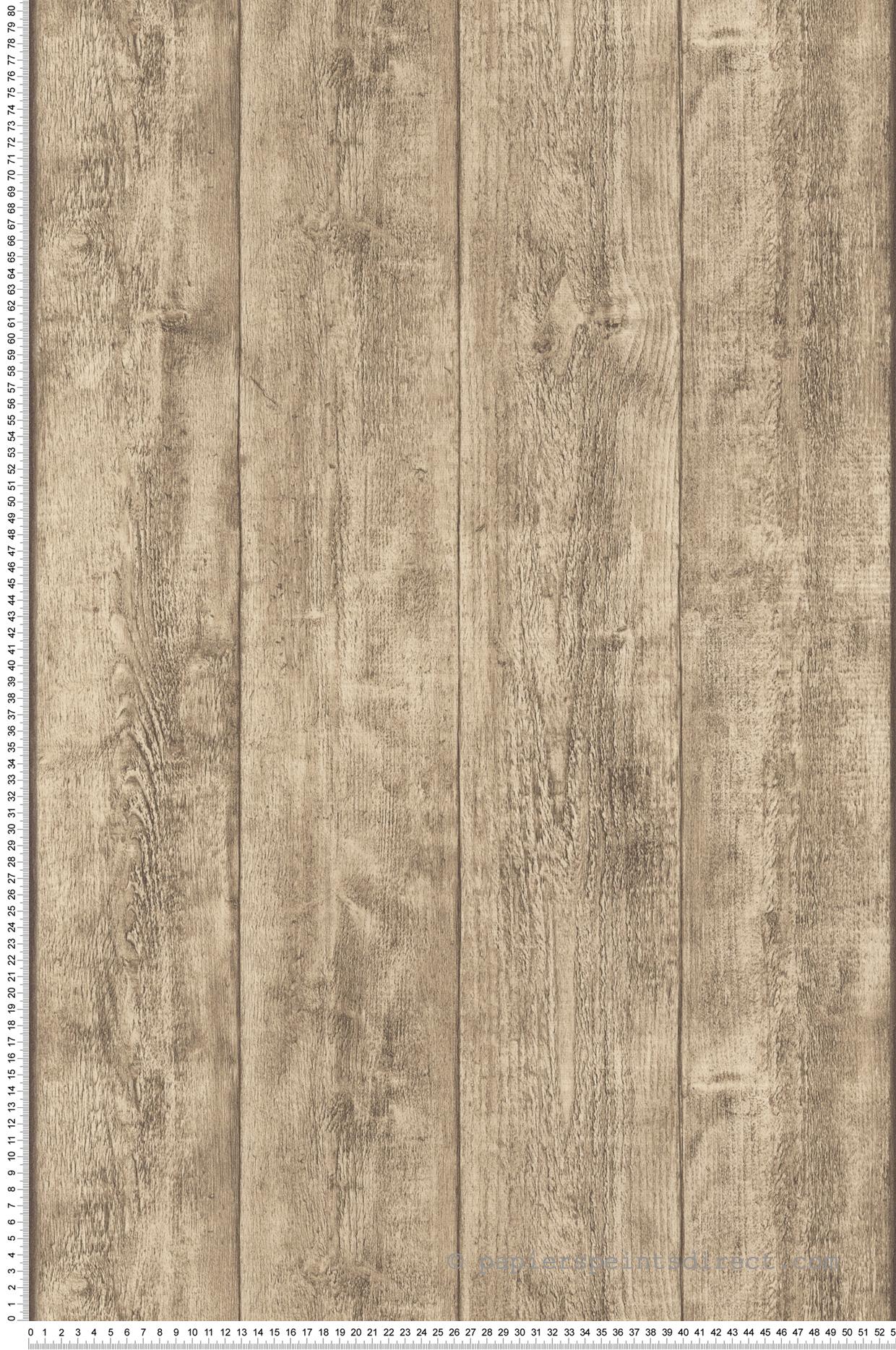 Deco Chambre Lambris Bois papier peint lambris bois beige - wood n stone 2 d'as création
