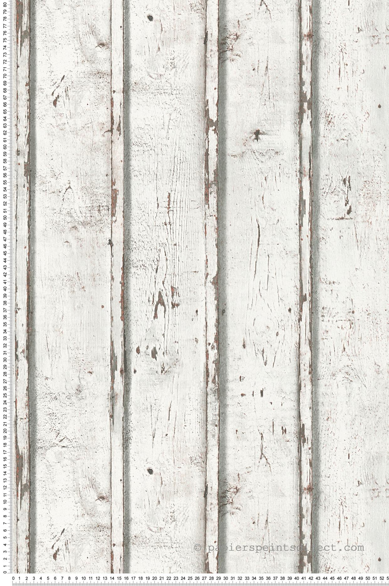 Papier peint Bois usé gris - Wood N Stone 2 d'AS Création | Réf. SP04485